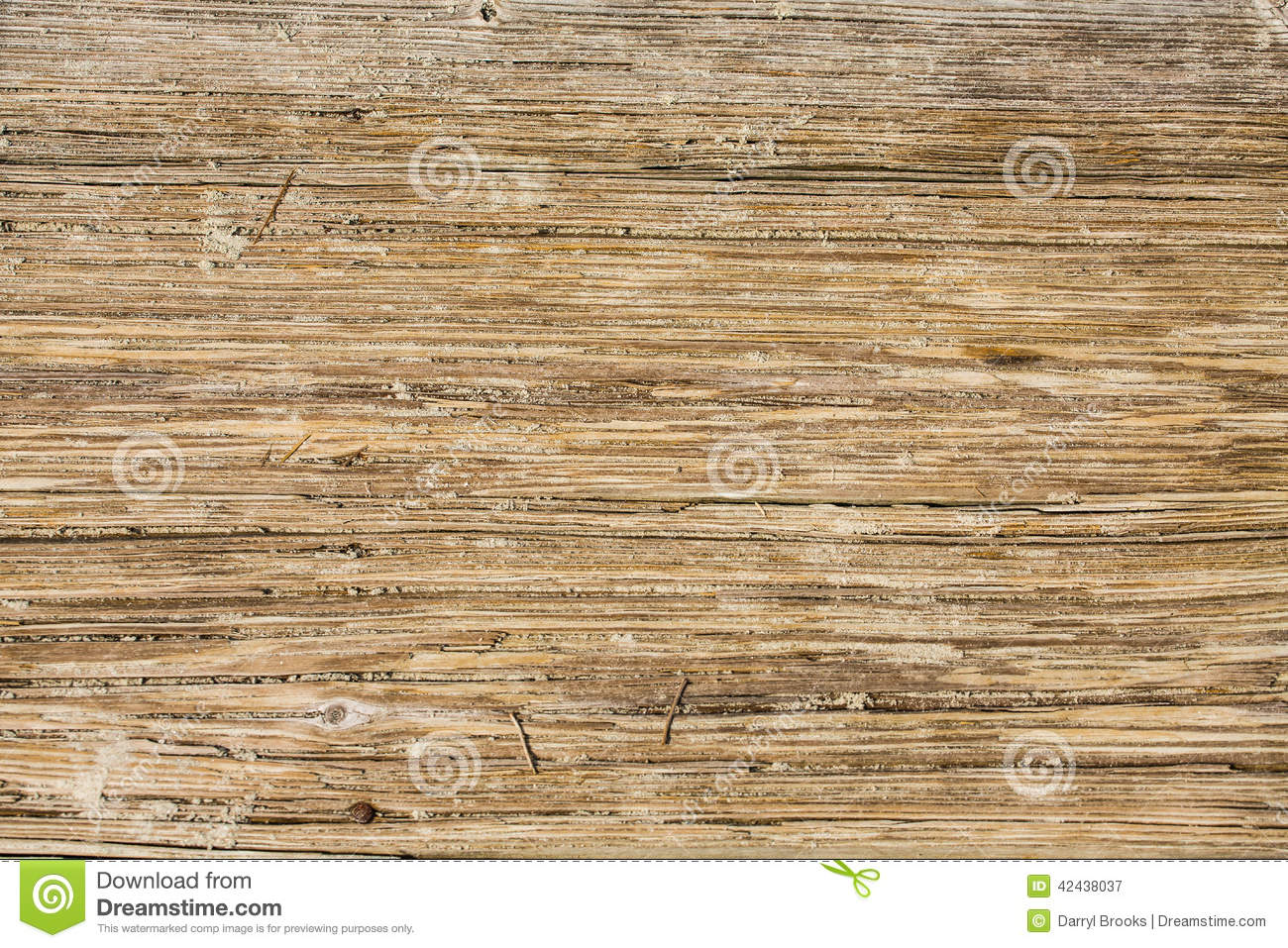 Worn Down Wooden Planks ~ Worn wooden sandy planks stock photo image