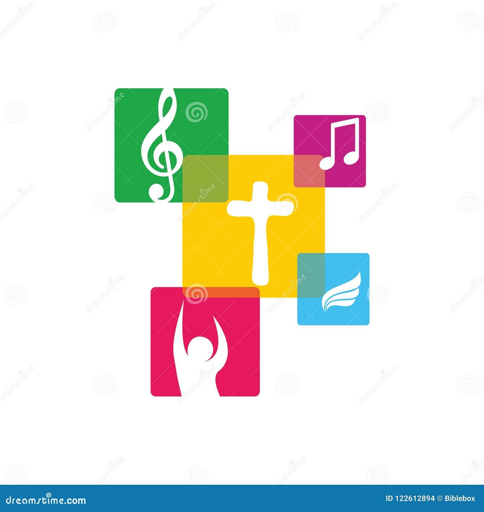 Worship Logo Cristian Symbols Worship Logo Cristian Symbols The