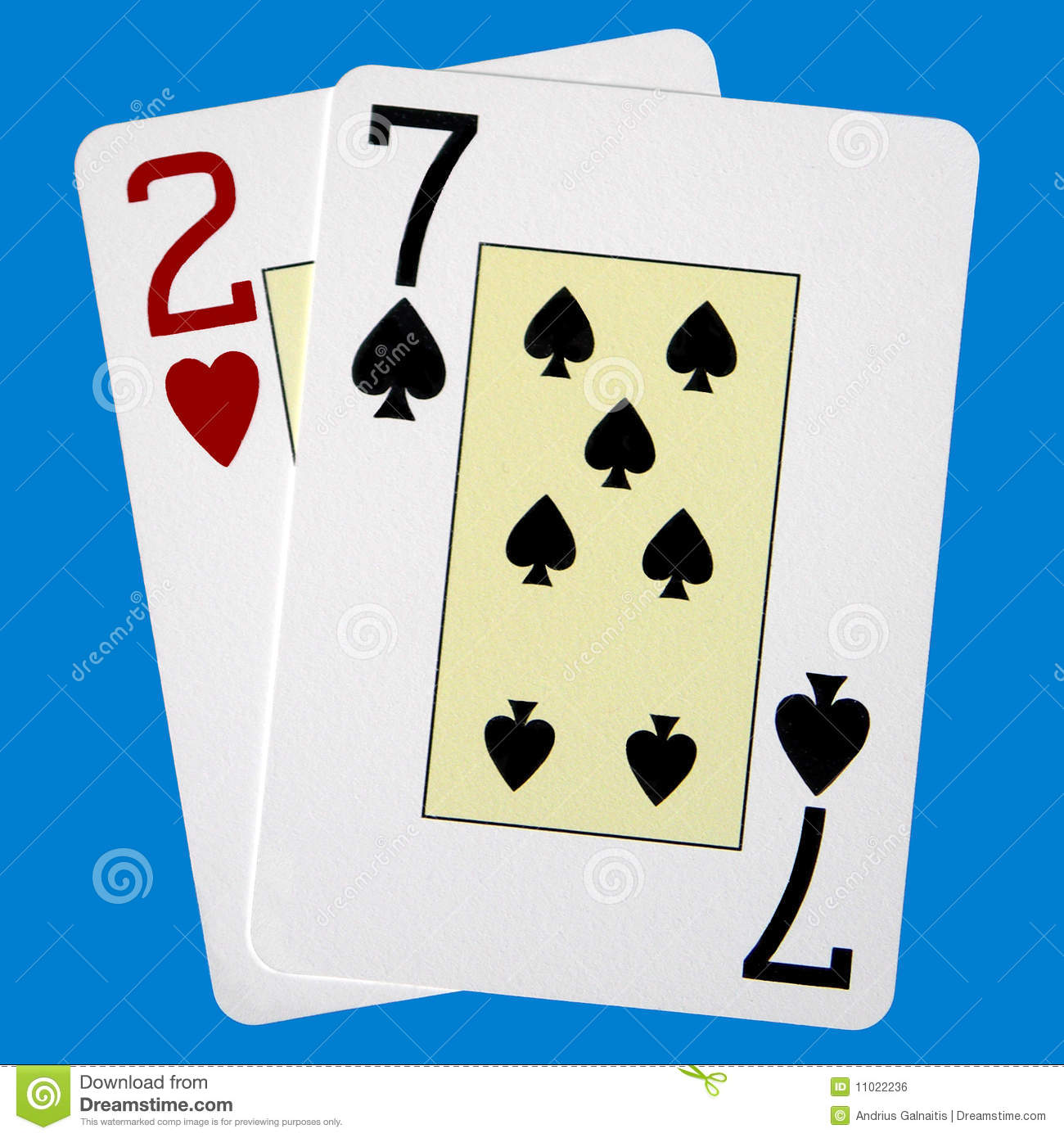 what are the worst poker hands