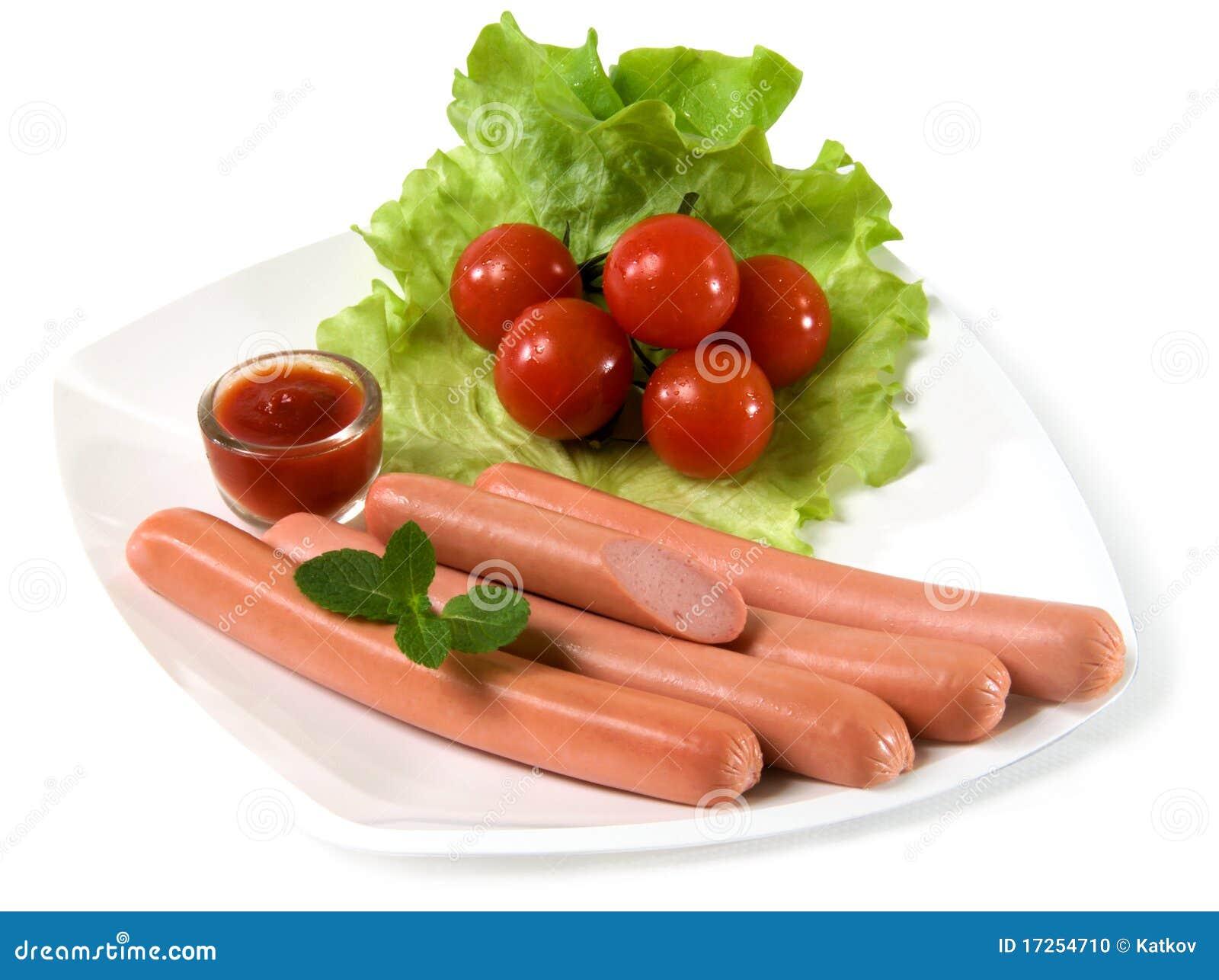 Worsten stock foto afbeelding bestaande uit maaltijd 17254710 - Hoek maaltijd ...