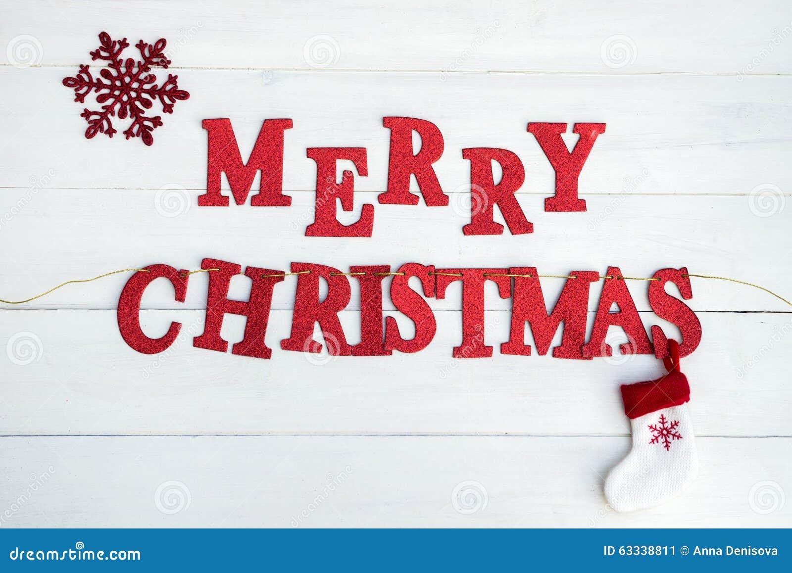 Wort-frohe Weihnachten stockbild. Bild von plaziert, funkeln - 63338811