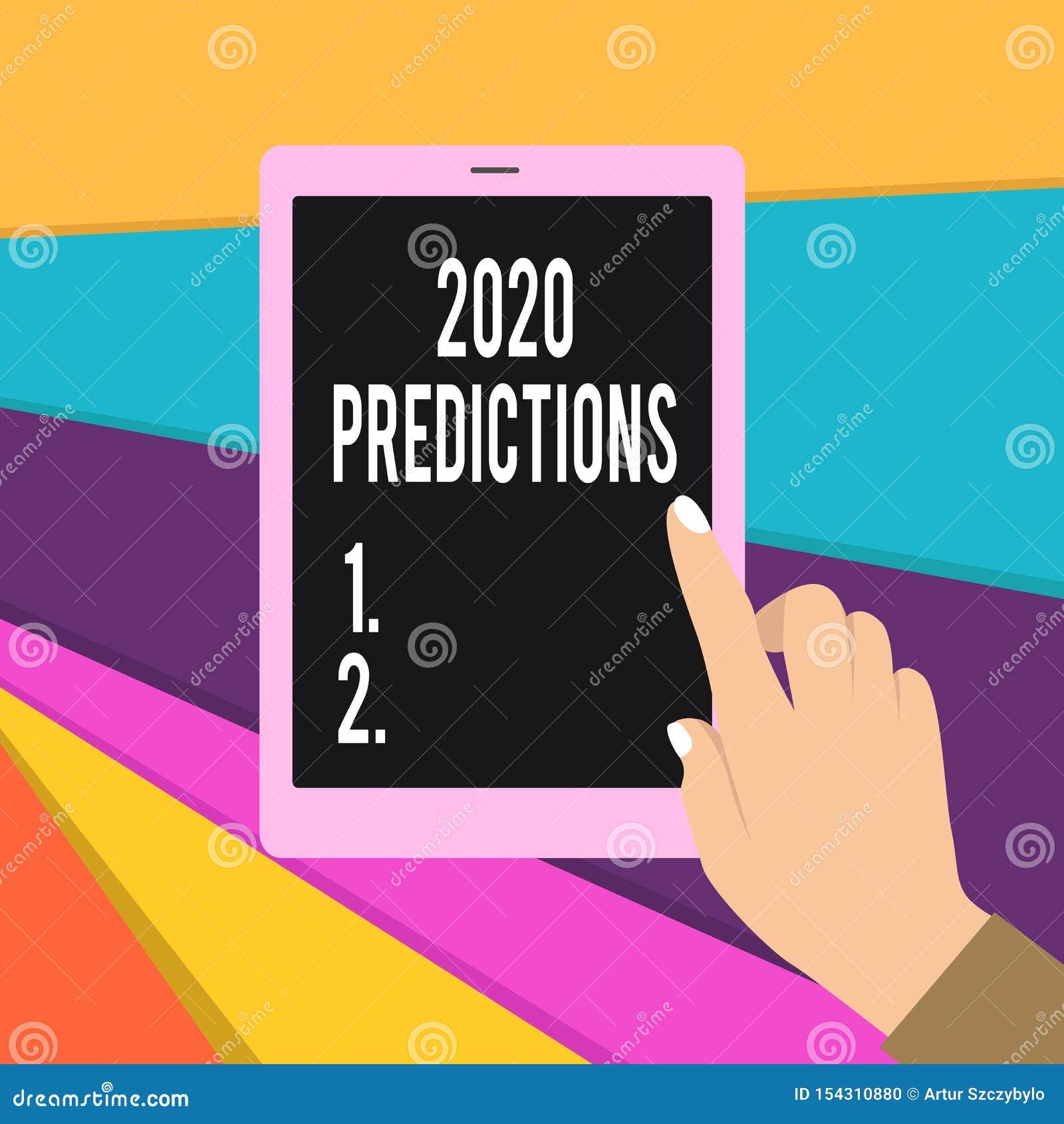 2020 Vorhersagen