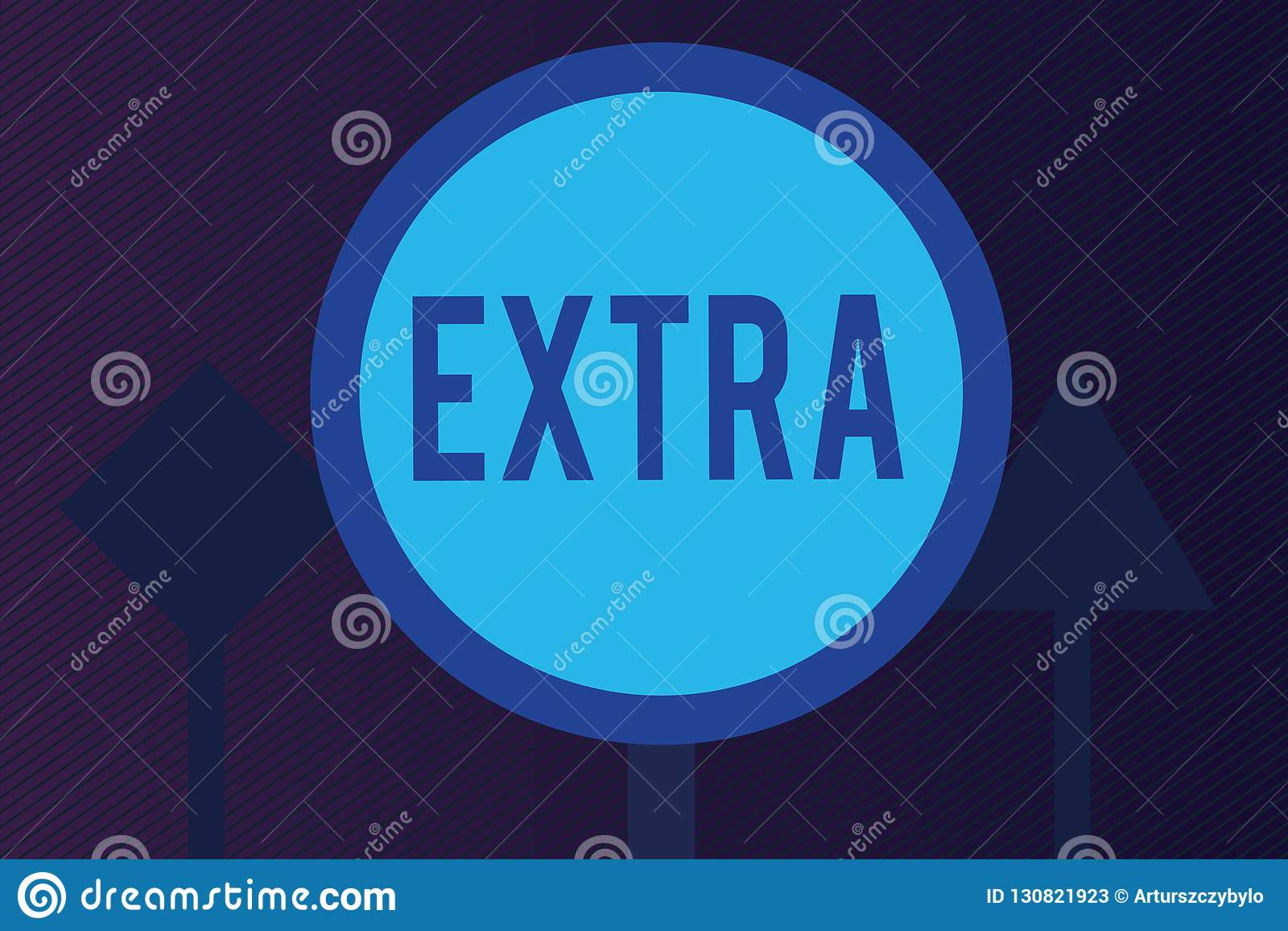 Wortschreibenstext Extra Geschäftskonzept für hinzugefügt vorhandenem oder üblichem Mengenzahl darüber hinaus Normal geben mehr