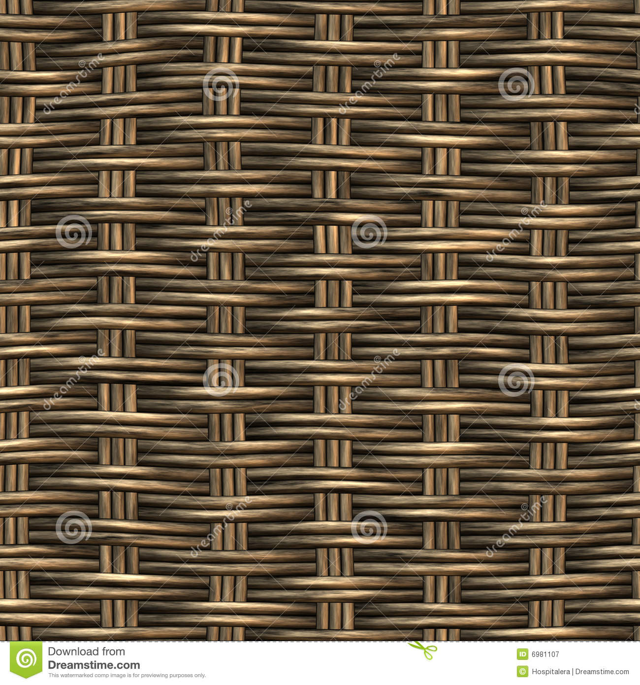 Rattan Basket Weaving Patterns : Woven royalty free stock photography image