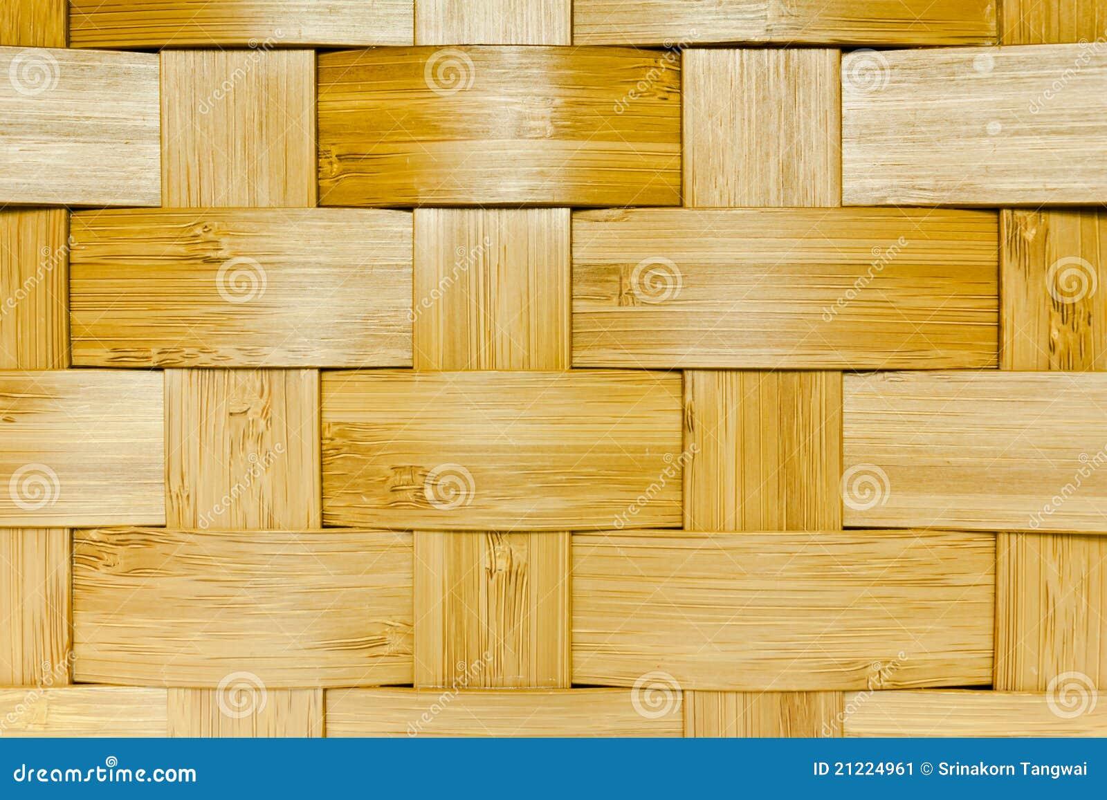 Woven Bamboo Panel Stock Image Image 21224961