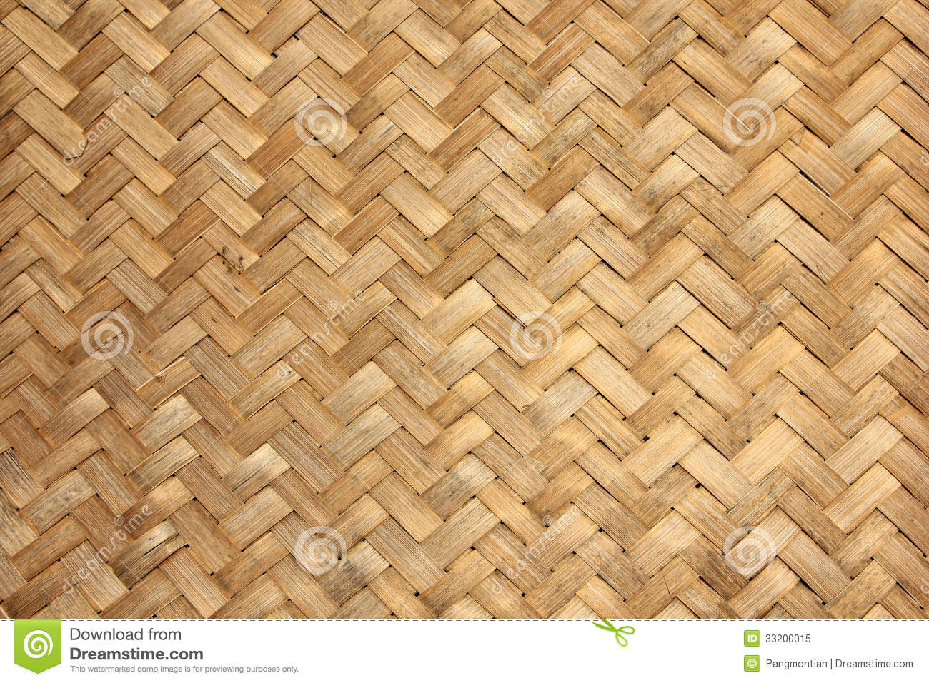 Woven Bamboo Stock Image Image Of Stick Nature Easter