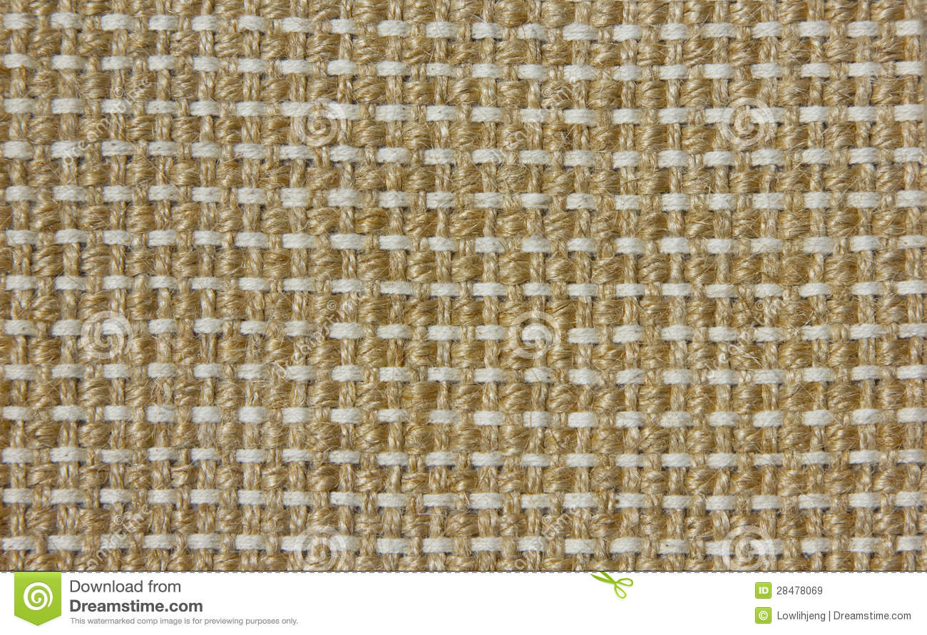 Woven Jute Fabric Stock Image Image Of Jute Abstract