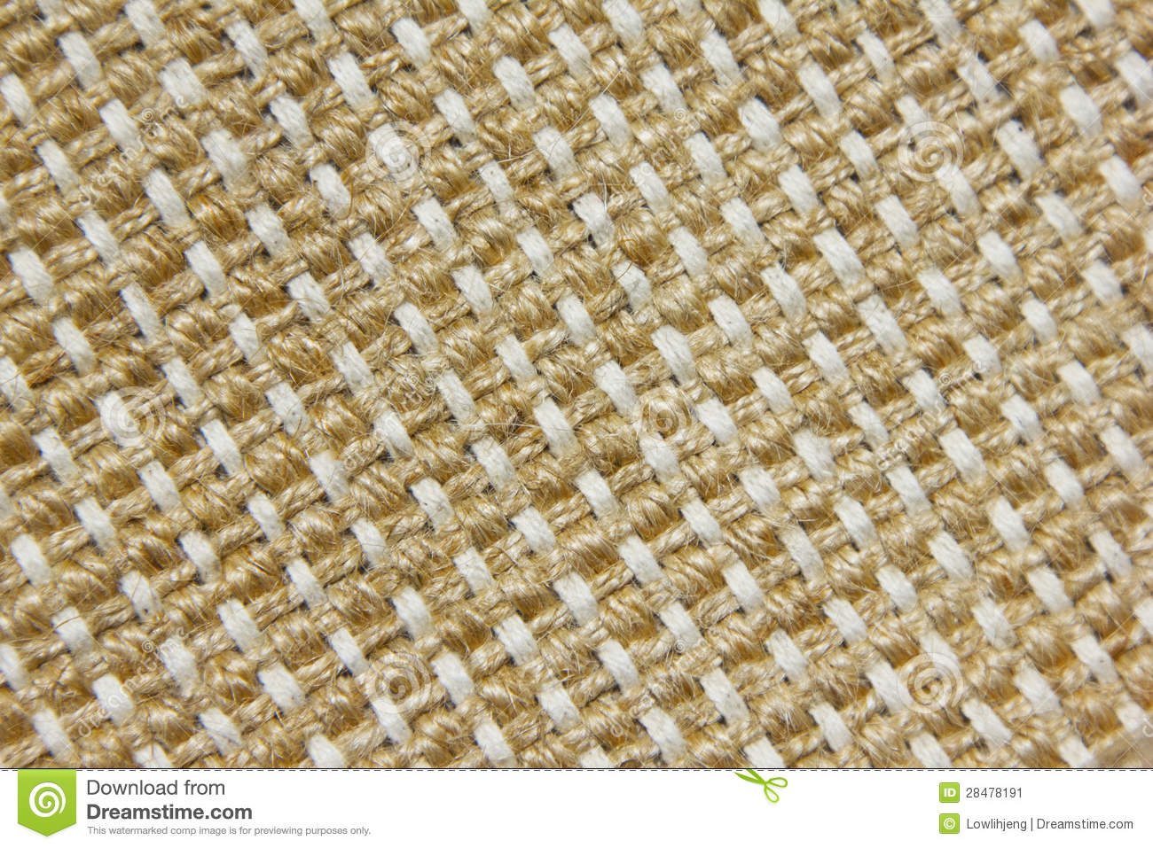 Woven Jute Fabric Stock Image Image Of Background Asian