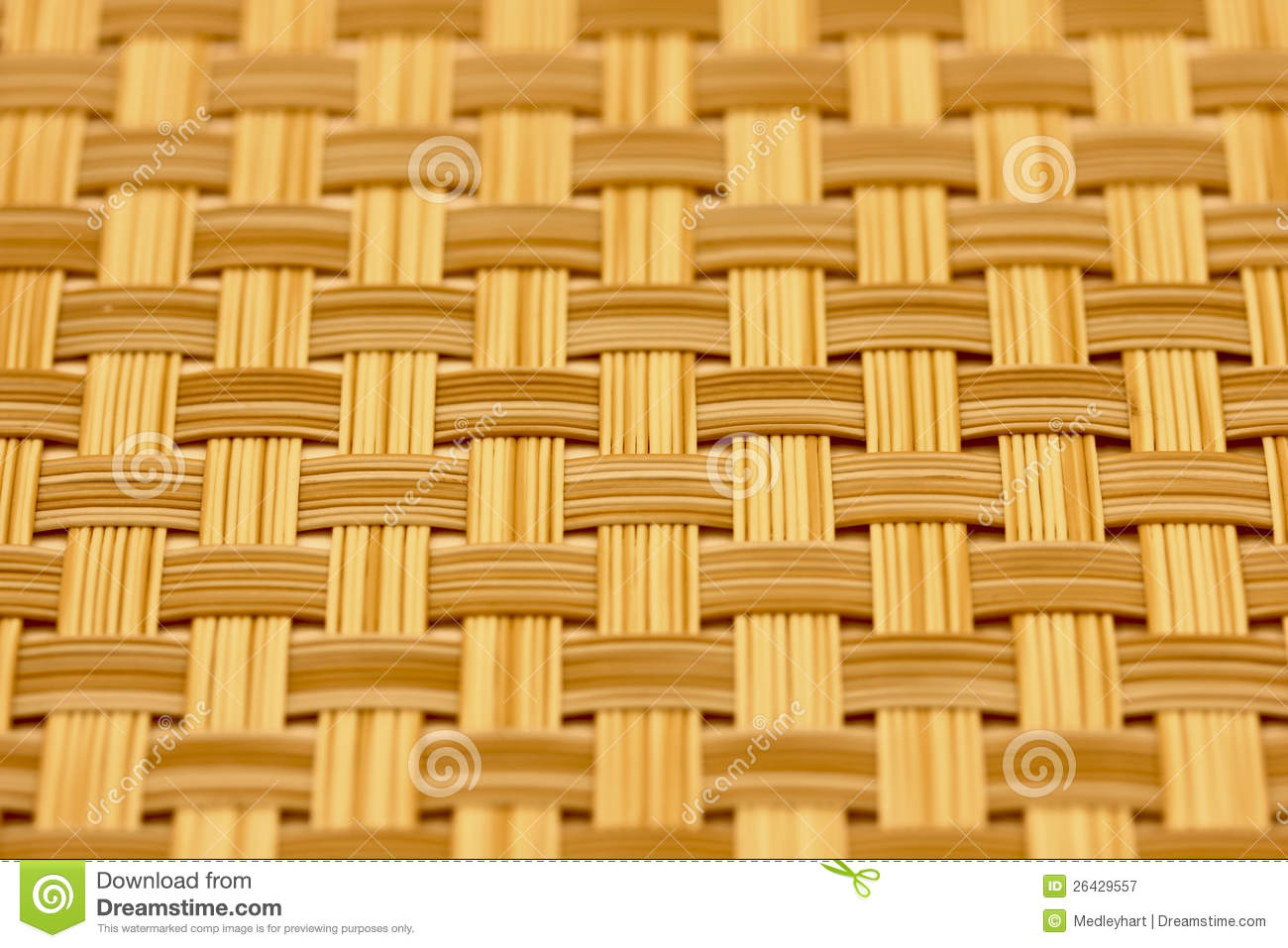 Woven Mat Stock Image Image Of Wove Place Fiber