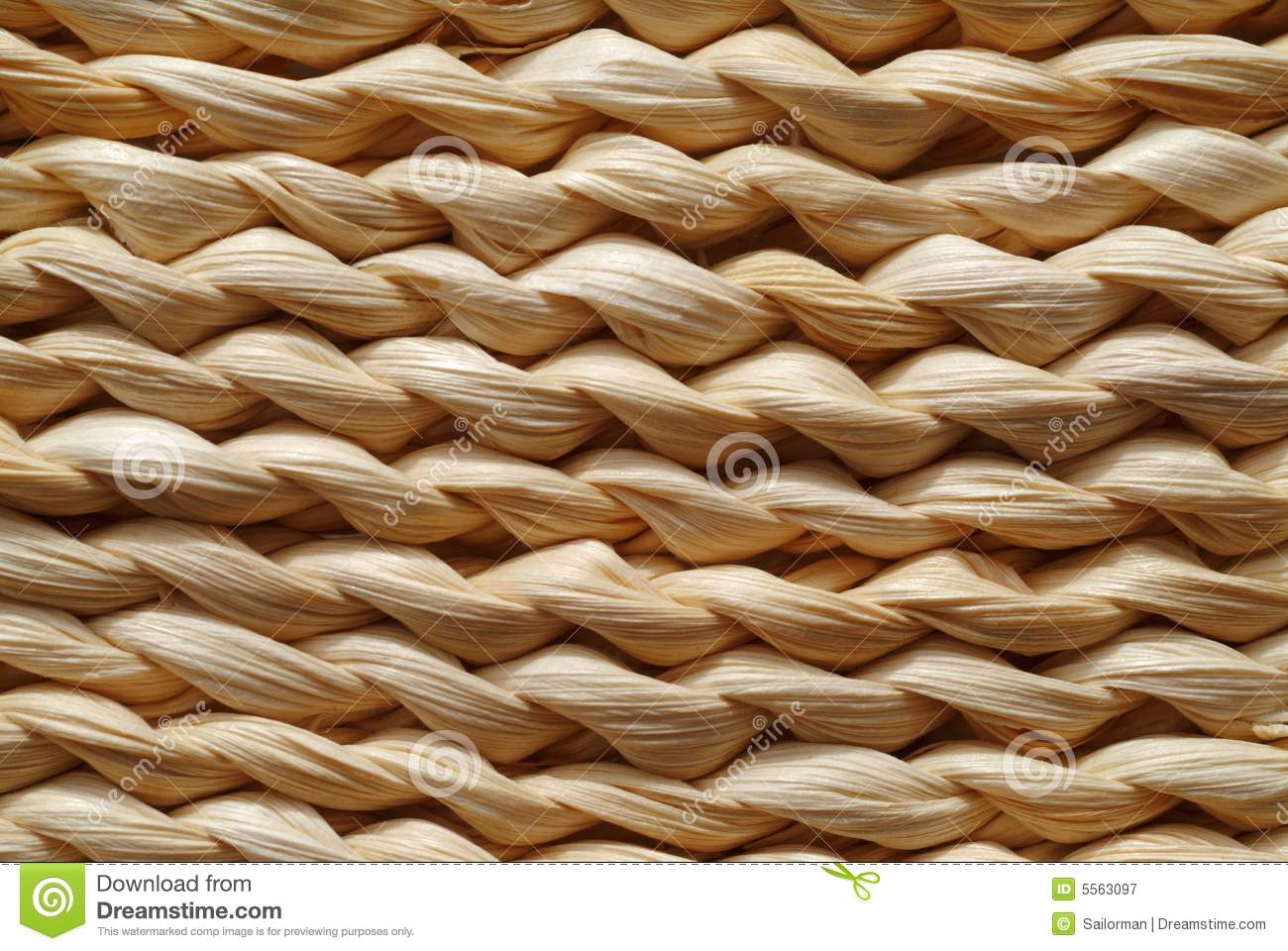 Woven Seagrass Texture Royalty Free Stock Photography