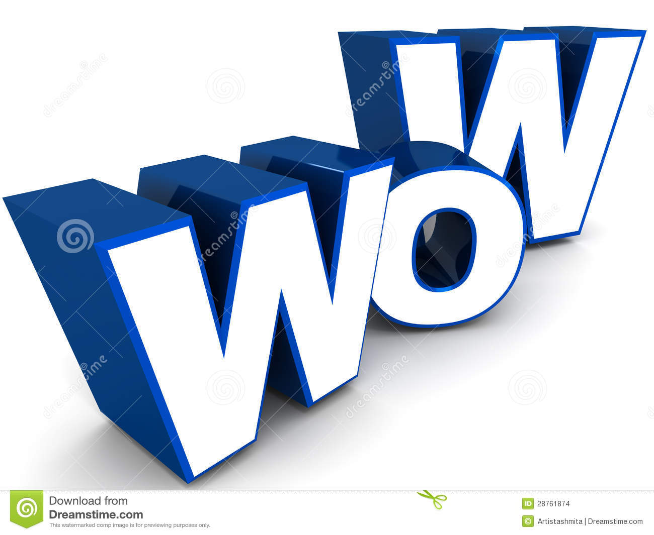 Wow Stock Images Image 28761874