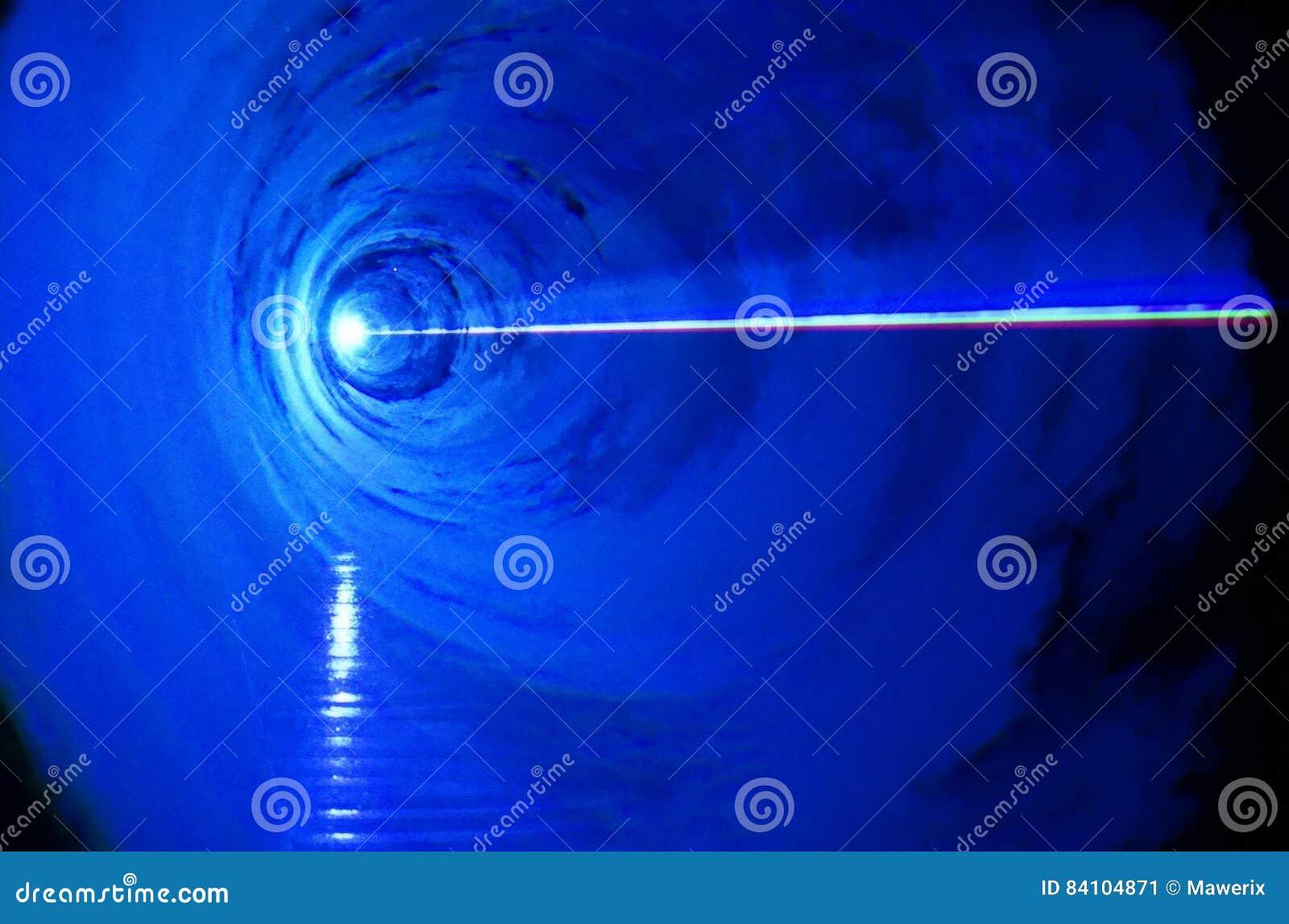 WOW - blue light effects