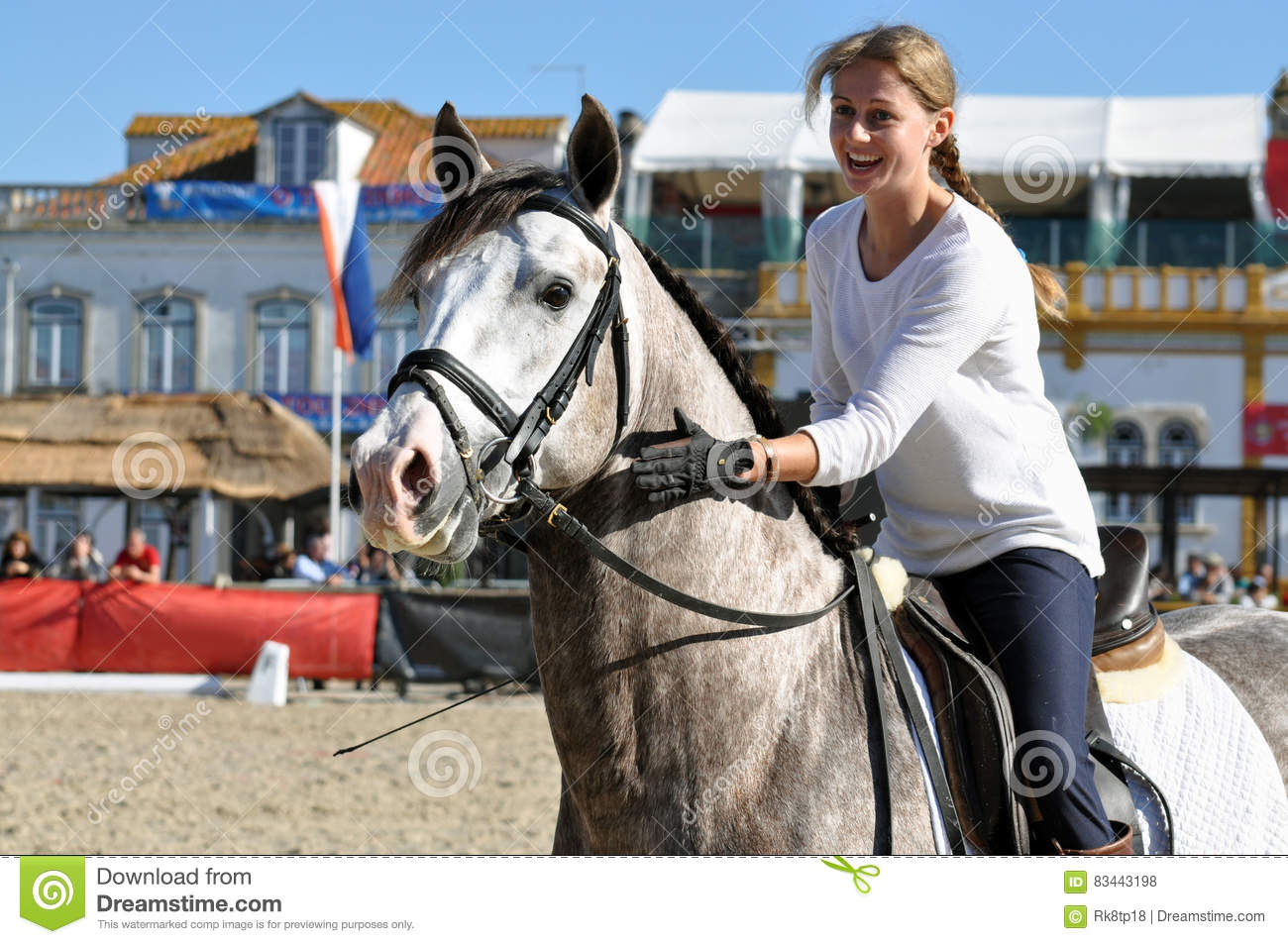 WOW Girl riding horse