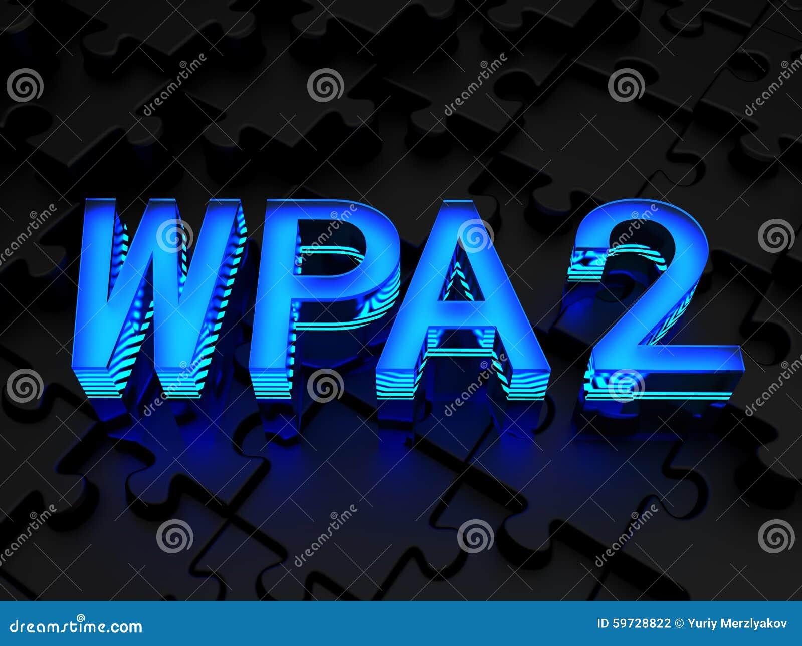 WPA2 (Wi-Fi Protected Access) ...