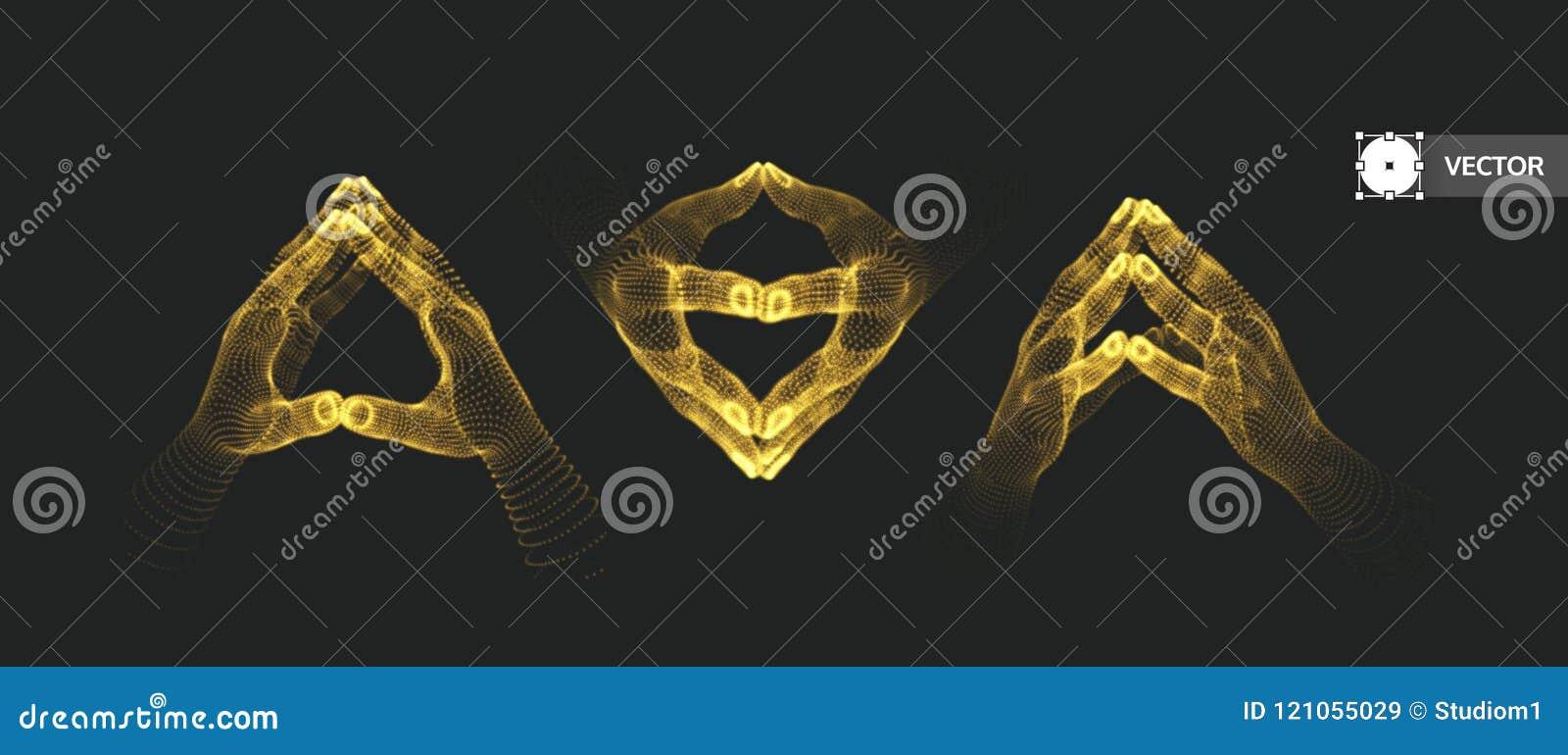 Wręcza istoty ludzkiej dwa Podłączeniowa struktura pojęcia prowadzenia domu posiadanie klucza złoty sięgający niebo 3d ilustracja
