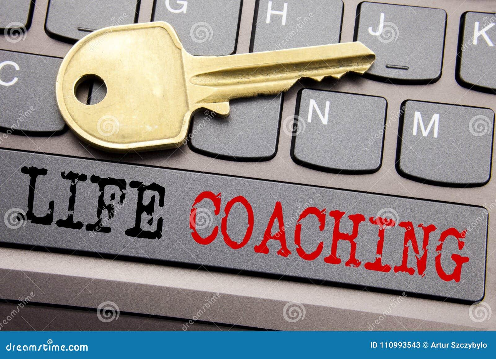 Wręcza writing teksta podpisu inspirację pokazuje życia trenowanie Biznesowy pojęcie dla ogłoszenie towarzyskie trenera pomocy pi