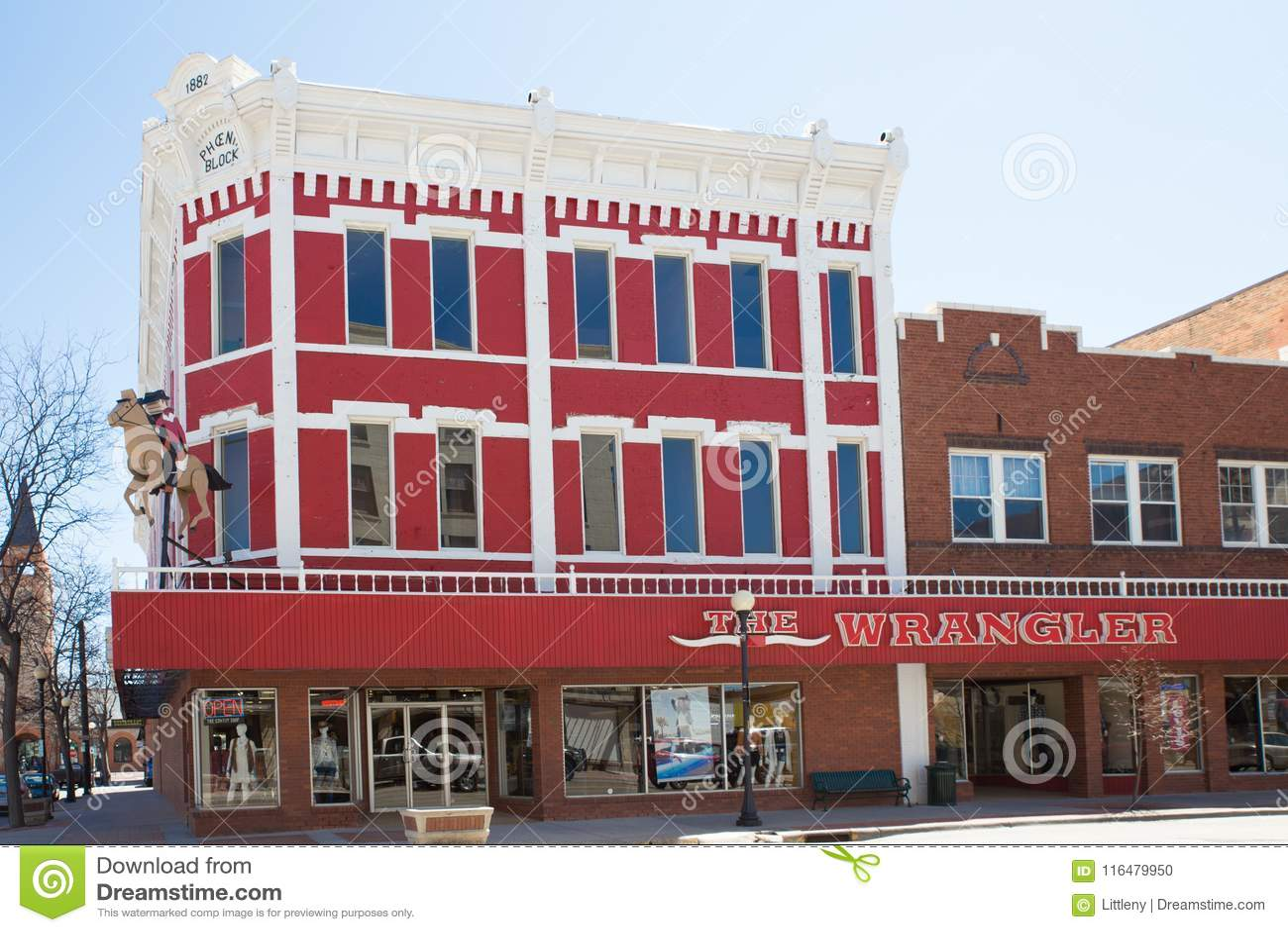 The Wrangler Store Cheyenne Wyoming Editorial Image - Image