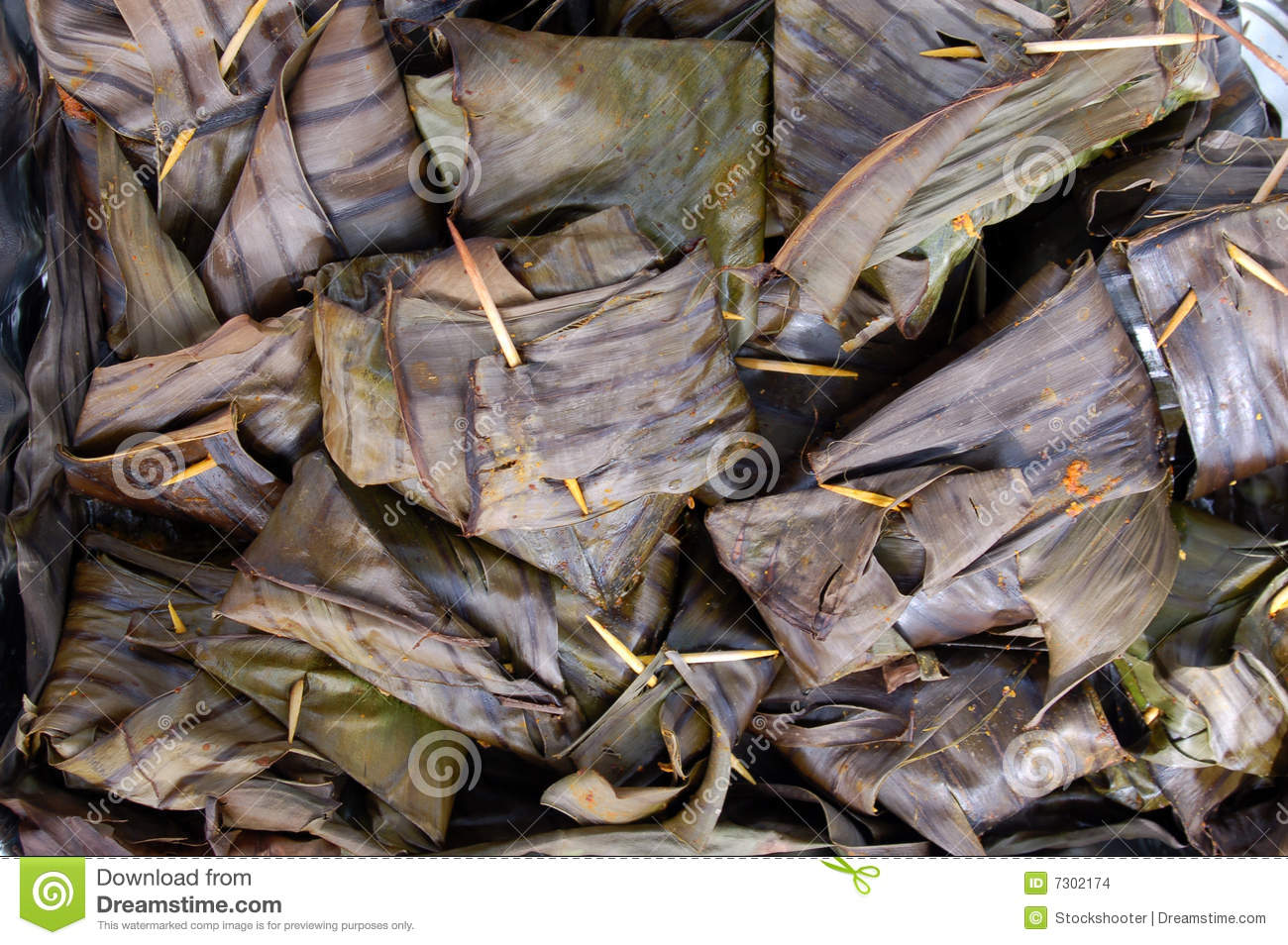 Wrapped fish dish serving stock images image 7302174 for Bacon wrapped fish
