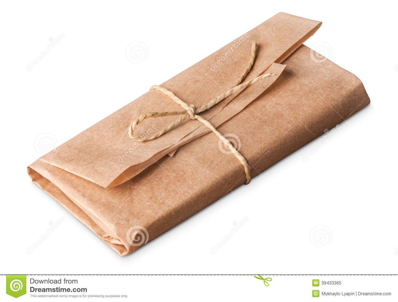 Wrapped stock image  Image of mail, pack, money, delivery - 39433365