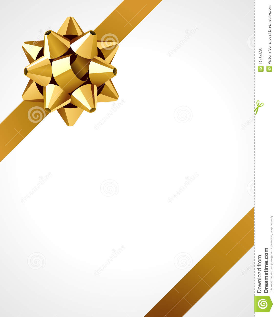 Wrapped Present Background Royalty Free Stock Image
