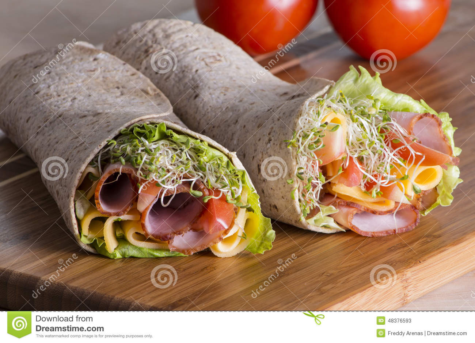 how to make tortilla sandwich rolls