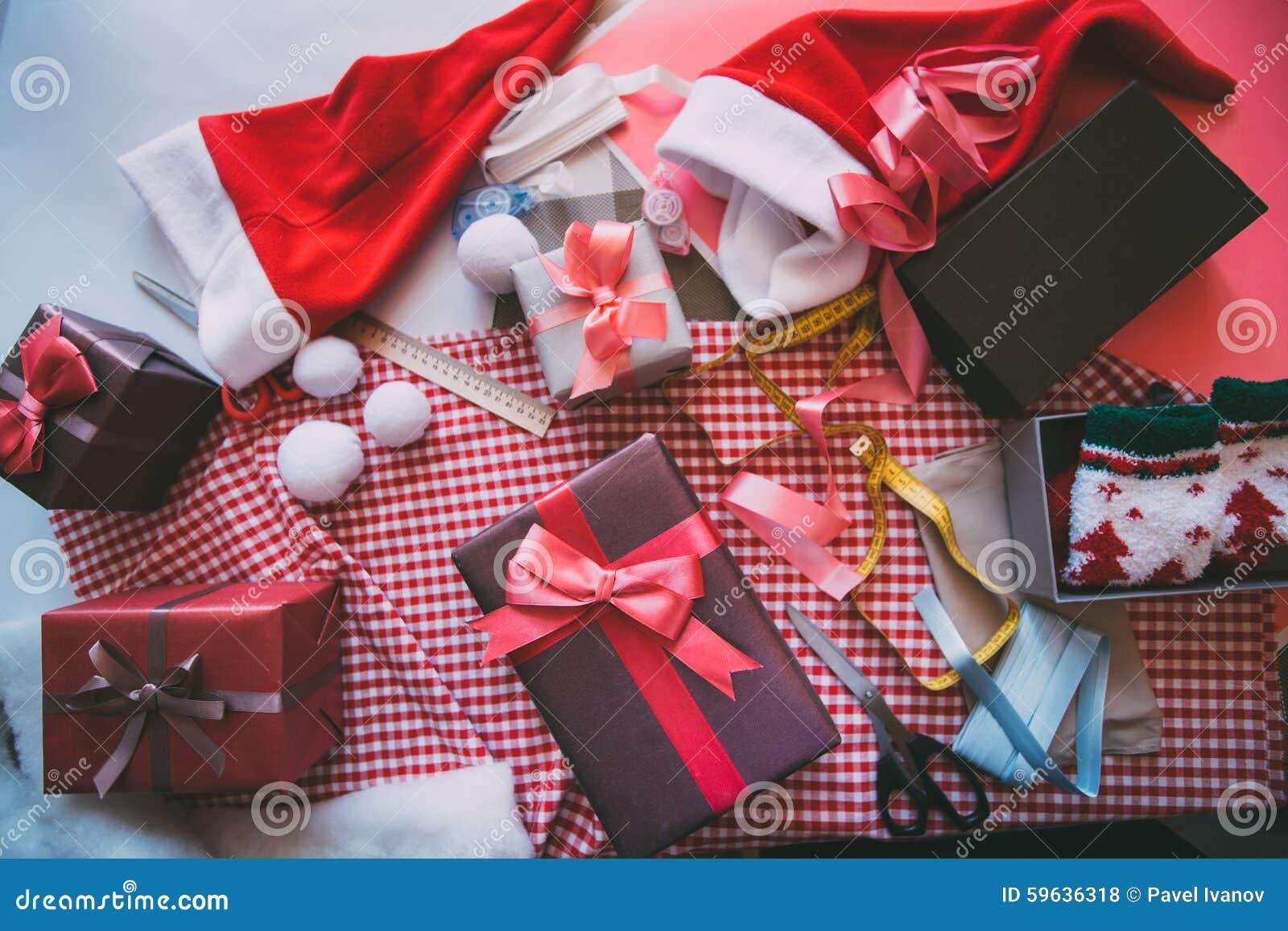 Wrapping Celebratory Background Stock Photo Image