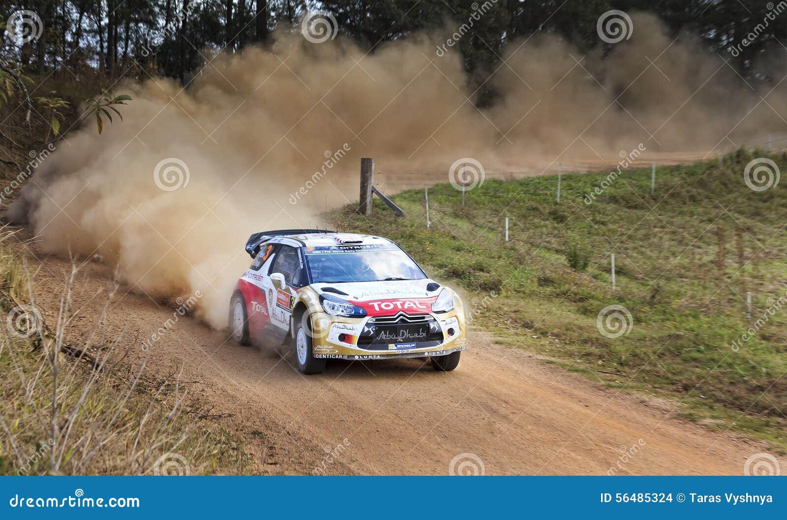 WRC Citroen Front Ground