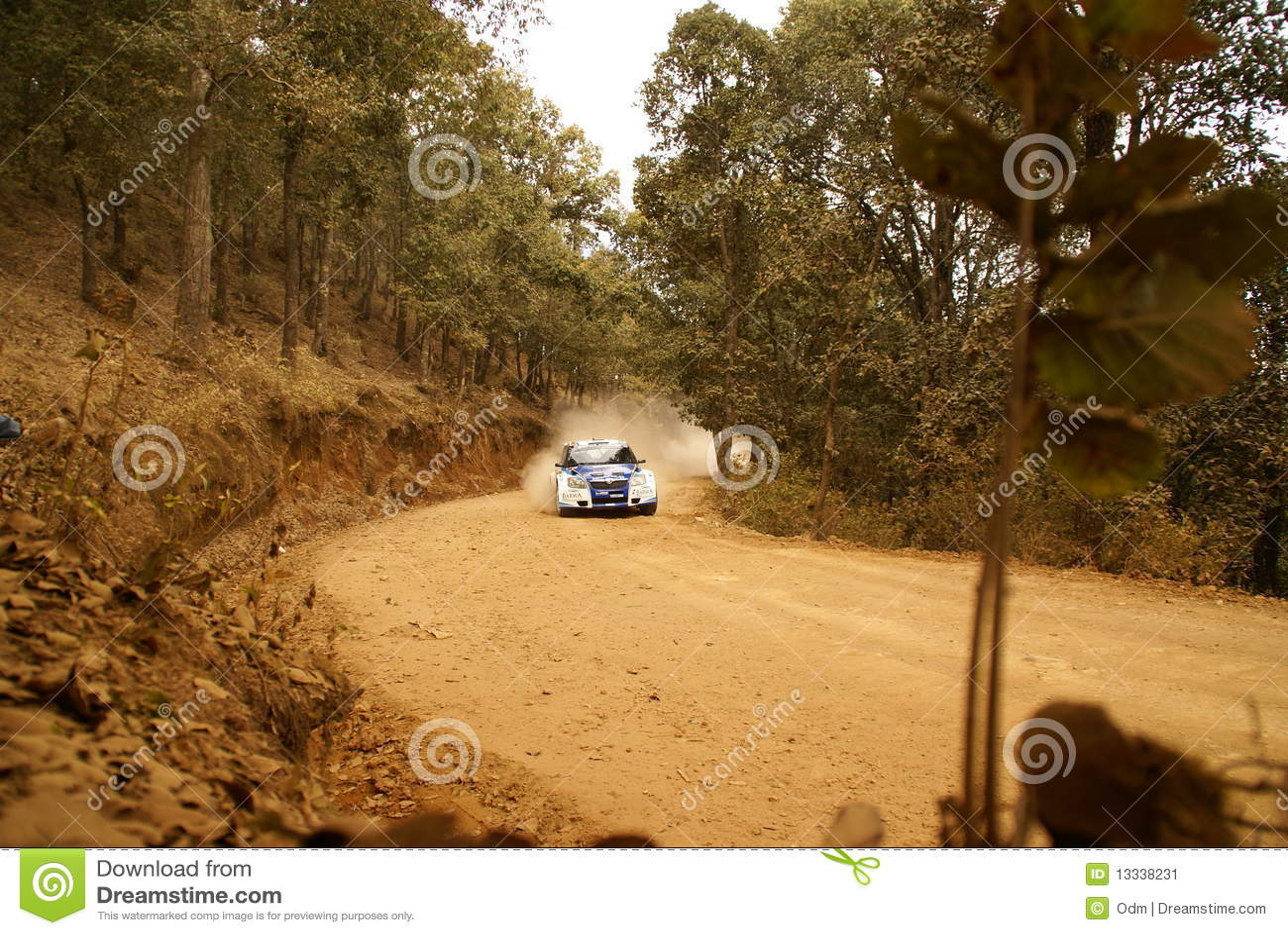 WRC Korona-Sammlung Mexiko Nasser 2010 AL-ATTIYAH