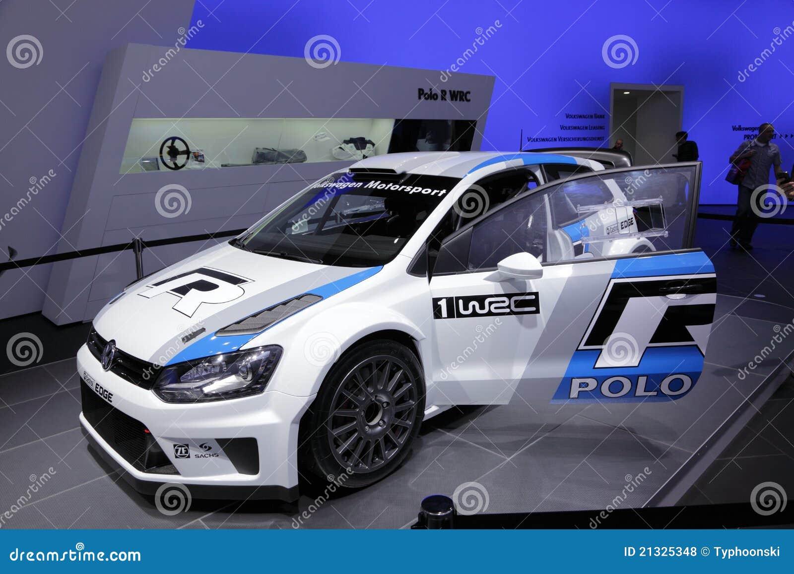 Wrc vw гонки поло автомобиля новое