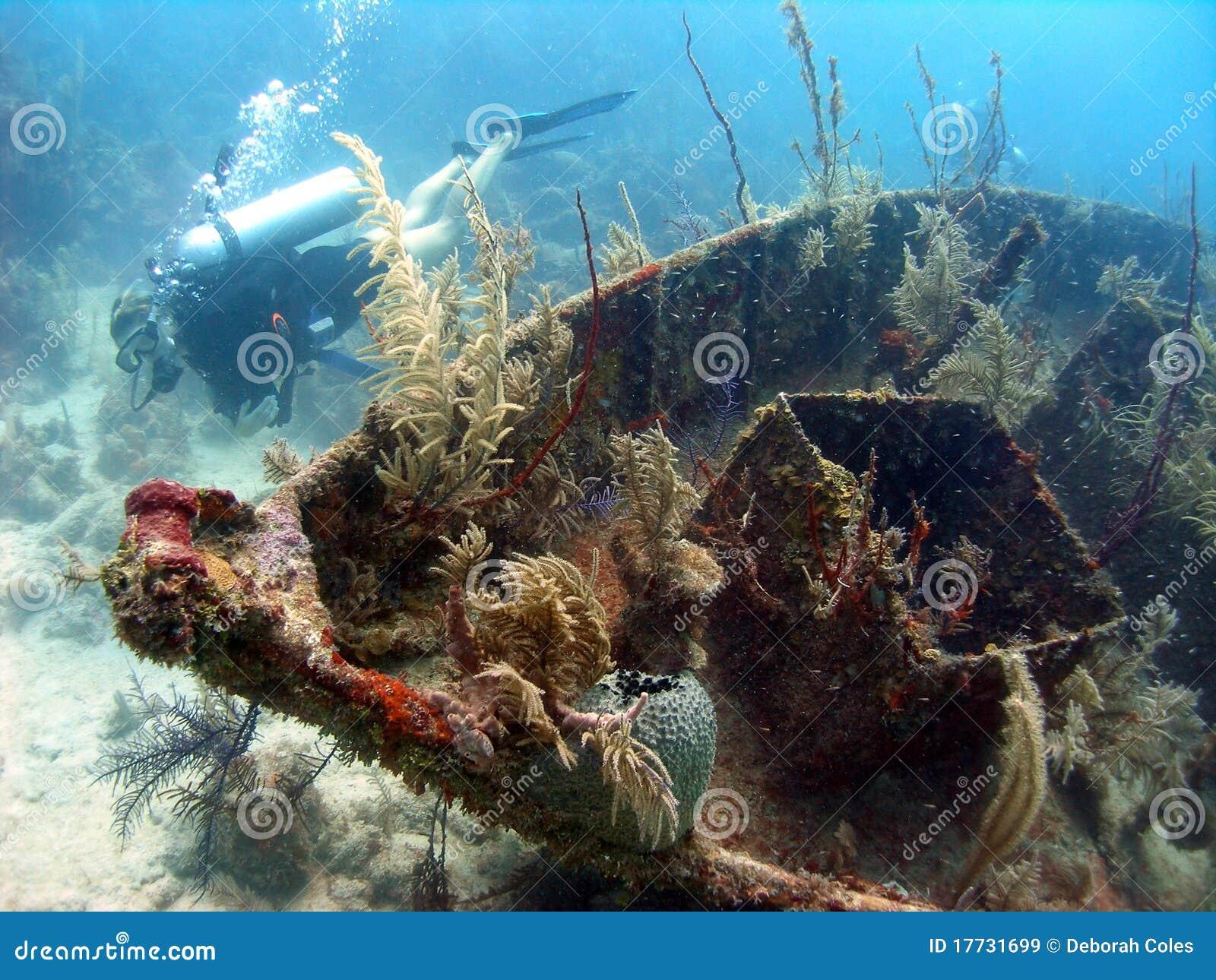Wreck of a ship