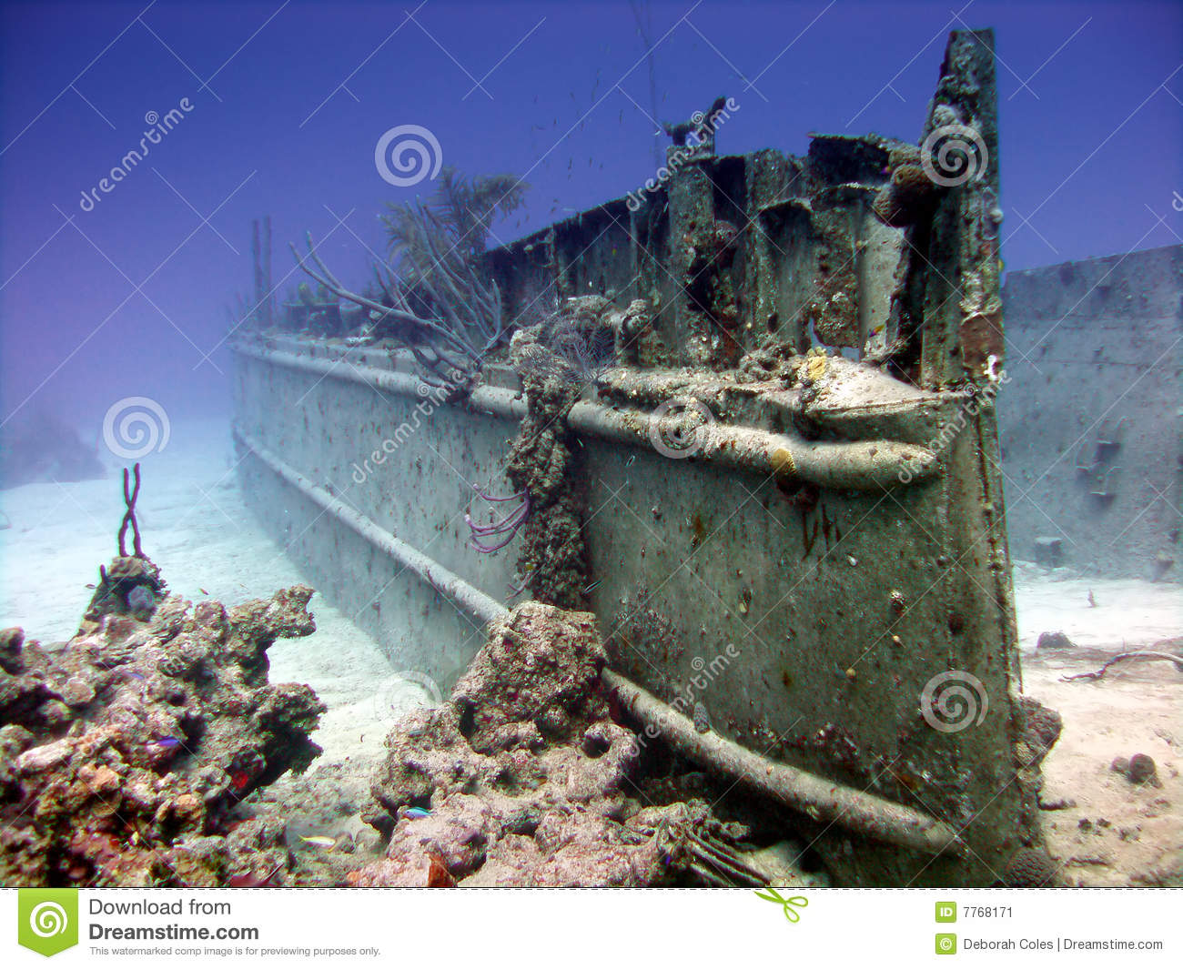 Wreck site