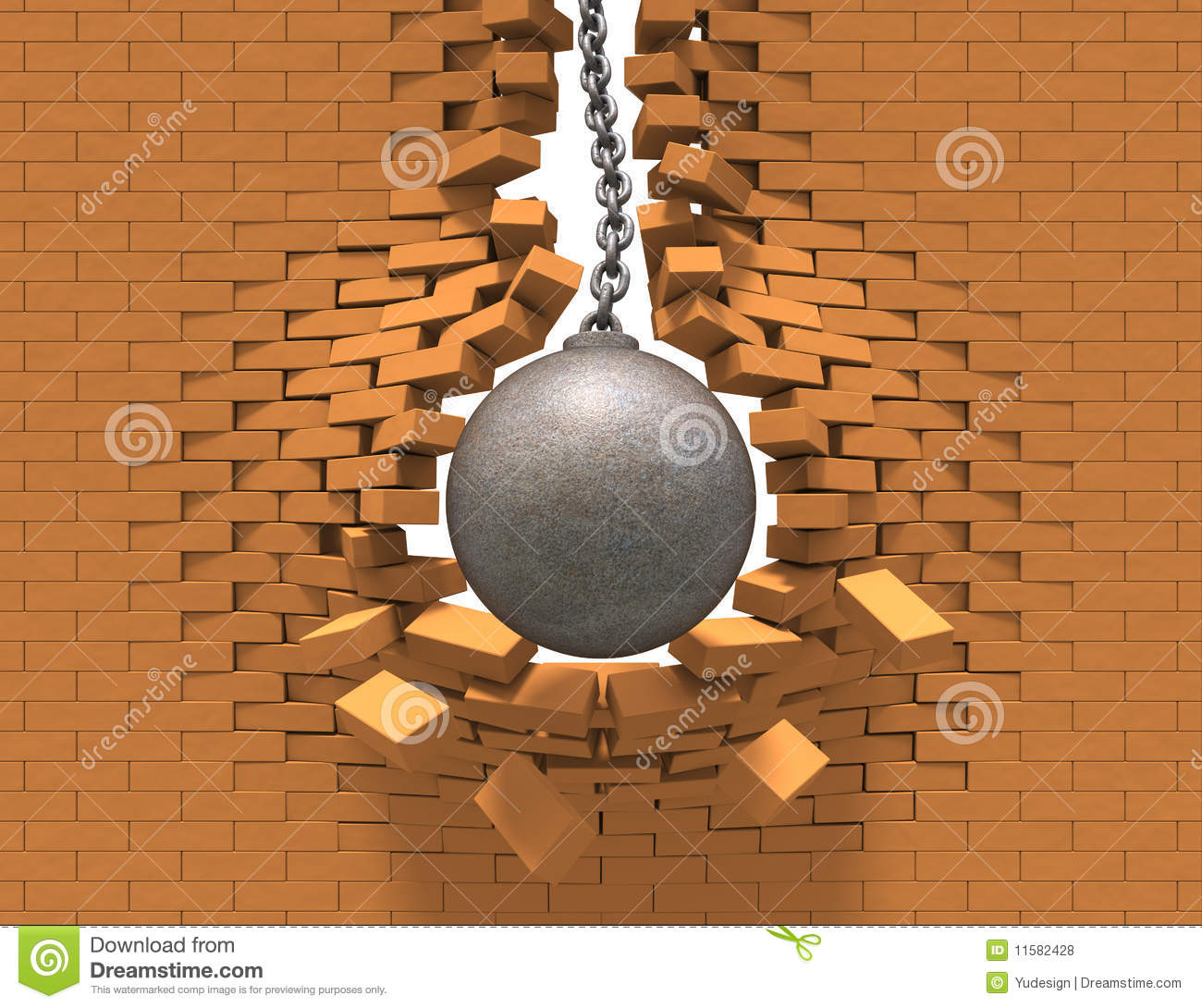 Wrecking Ball Demolition : Wrecking ball royalty free stock photos image