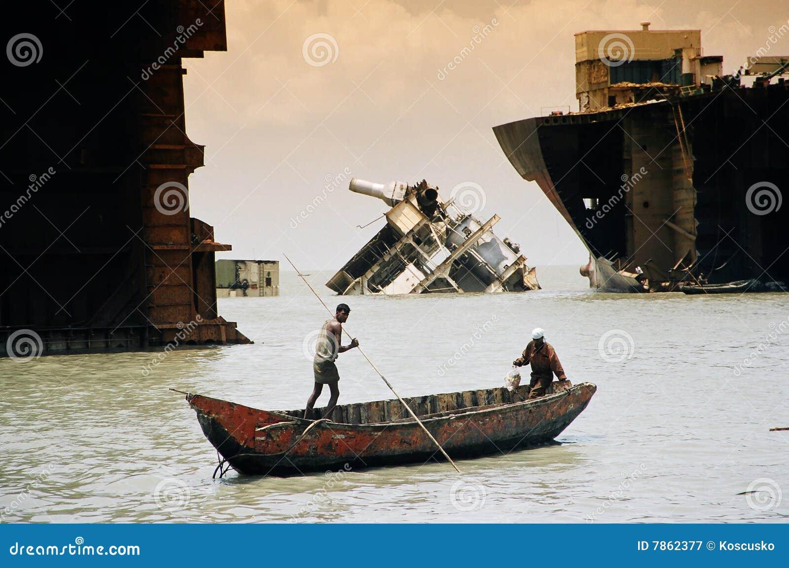 Among the wrecks, Bangladesh