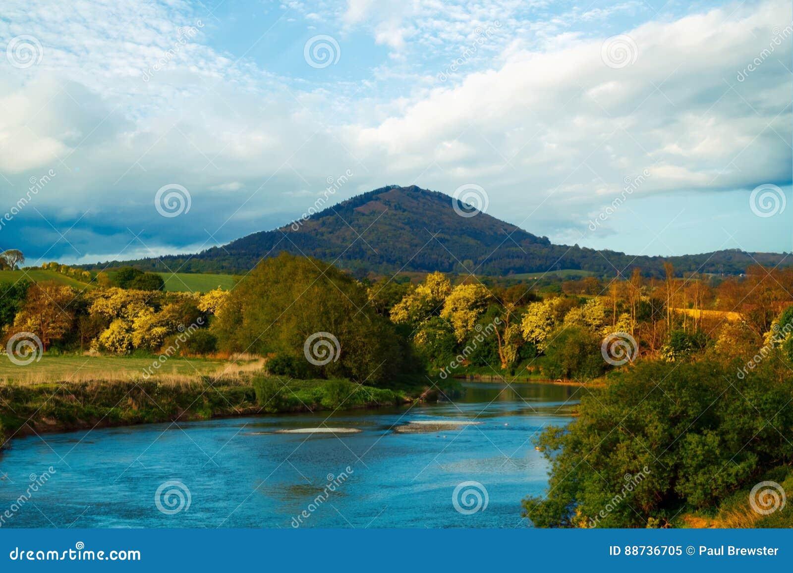The Wrekin hill