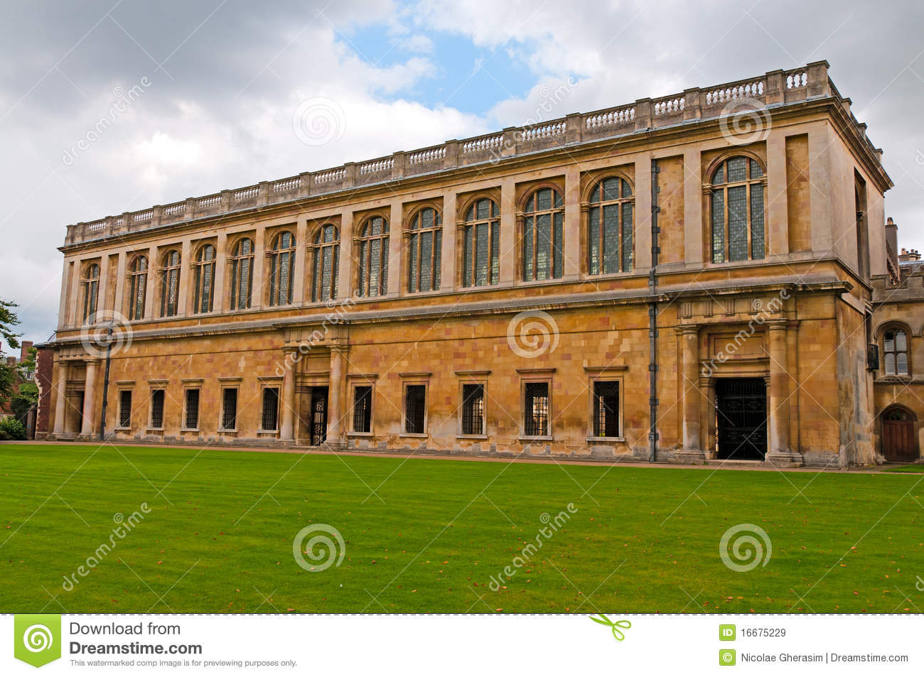Wren library stock image  Image of historical, library