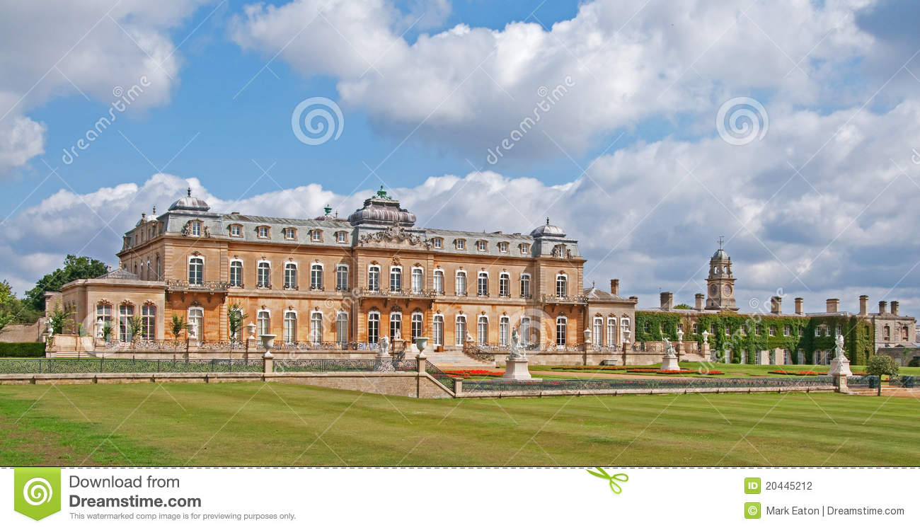 Wrest Park Stately Home England Stock Photography
