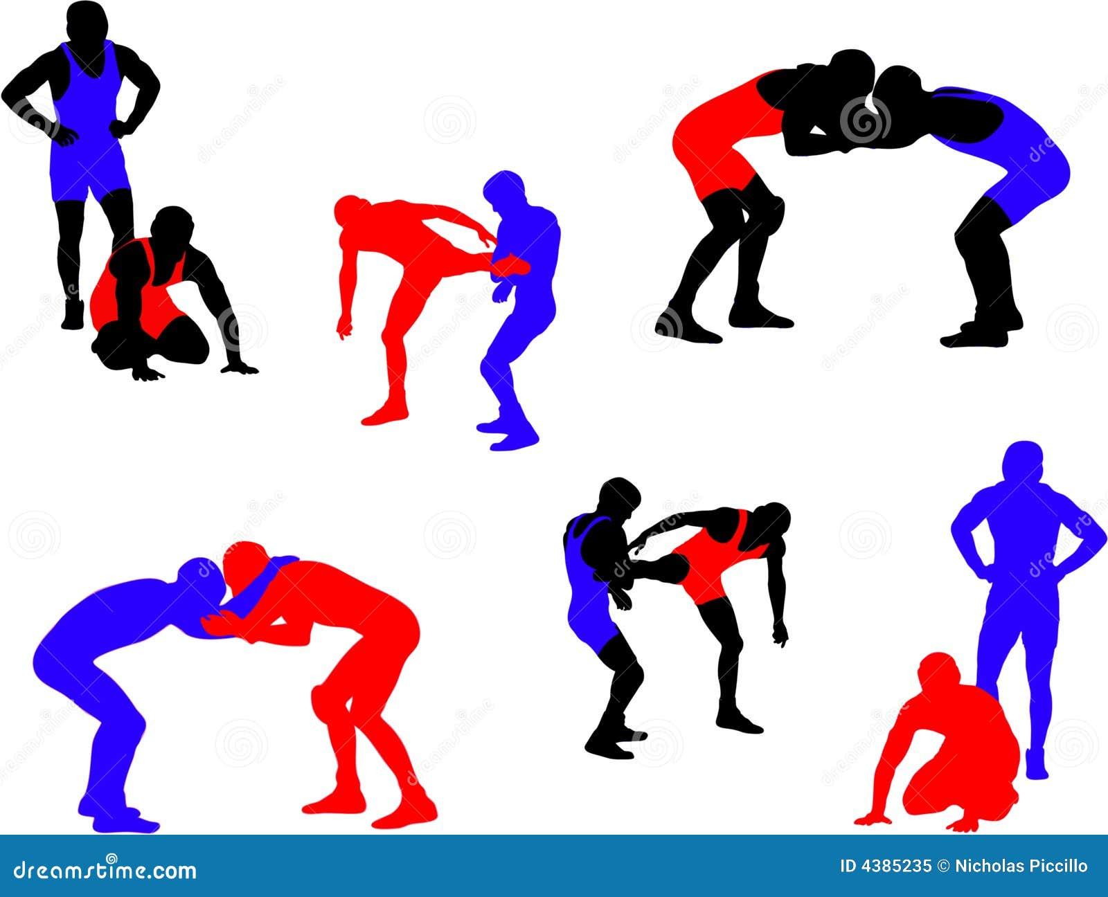 free high school wrestling clip art - photo #42