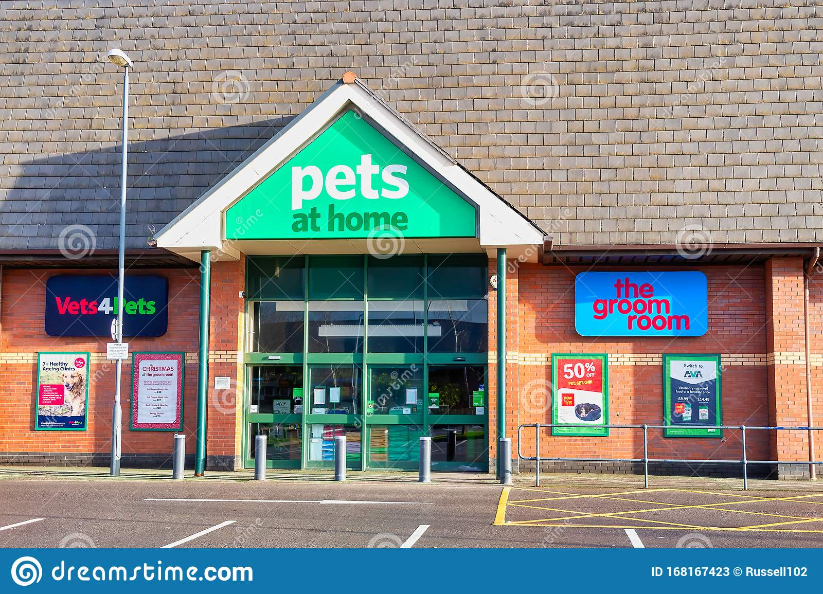Pets At Home Superstore Store Front Editorial Stock Photo Image Of Building Front 168167423