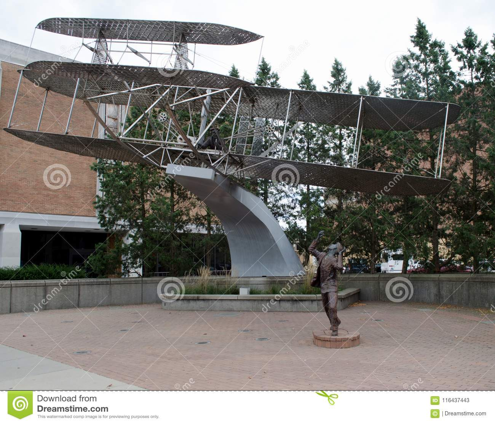 Wright Brothers Biplane