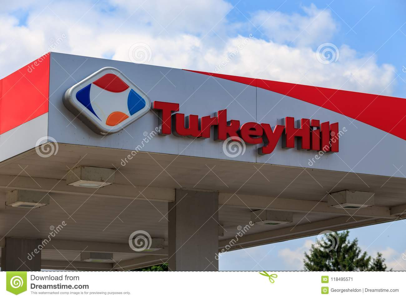 Turkey Hill Minit Markets Logo Editorial Photo