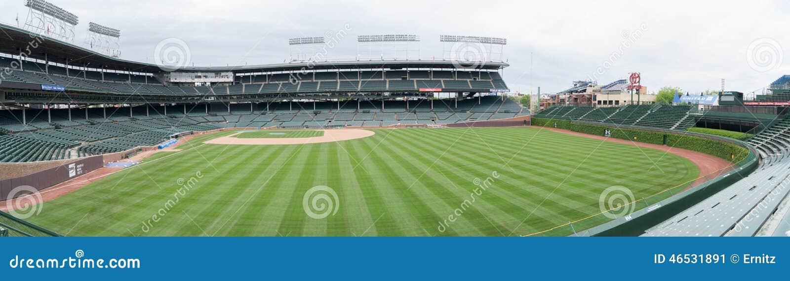 Wrigley sistema a casa dei Chicago Cubs