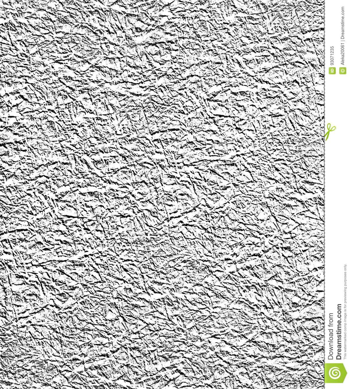 Wrinkled Paper Template - Old Graphic Background Stock Illustration ...