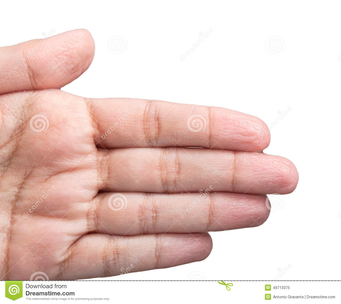 Wrinkled Skin Of The Hands Stock Photo - Image: 49713375