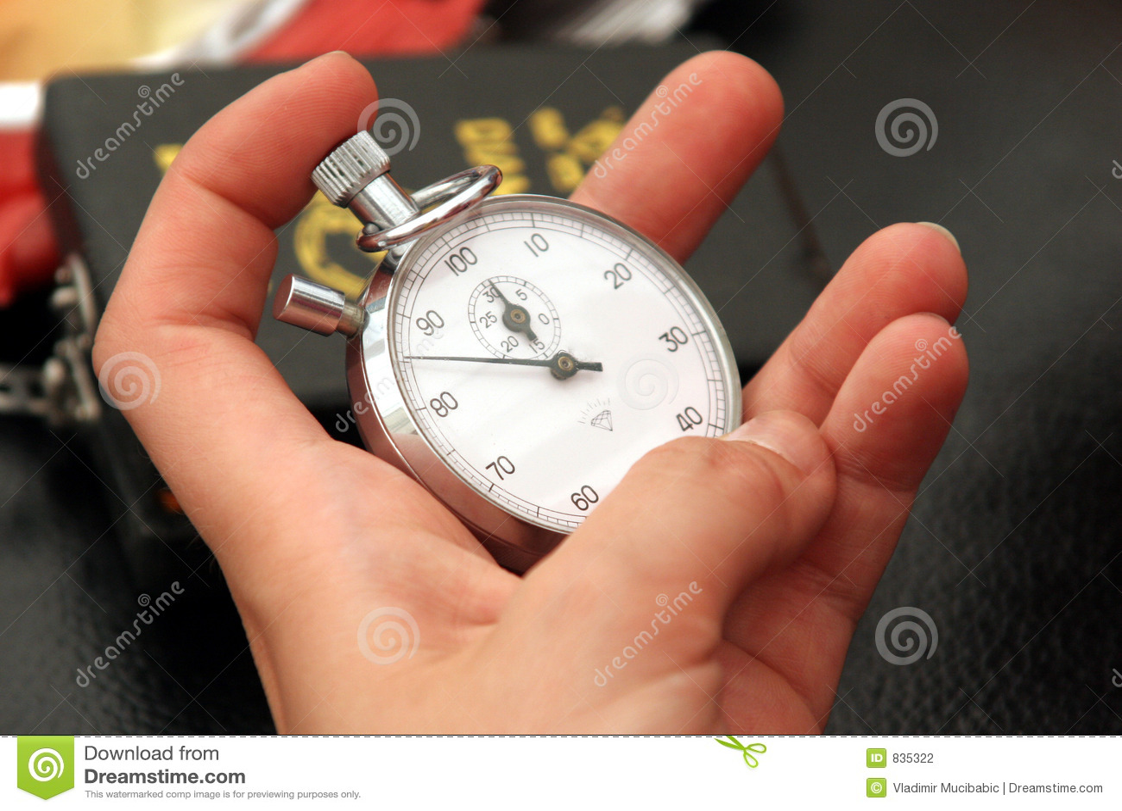 Wrist-watch, clock