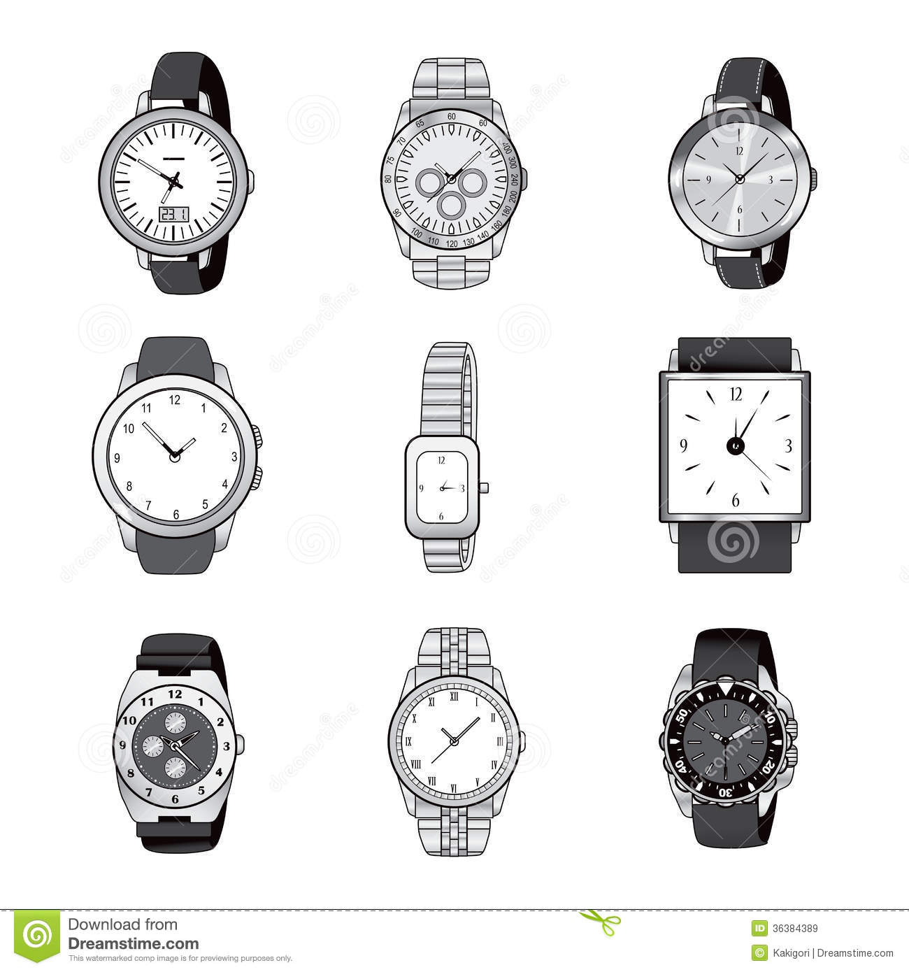 Clipart Watches