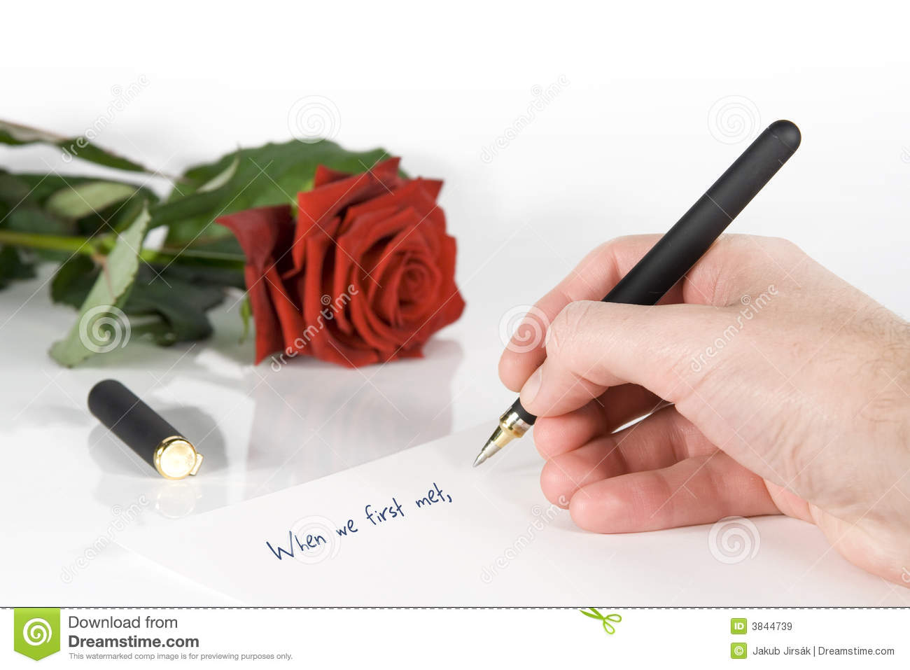 Write love letter stock image image of departure write 3844739 write love letter spiritdancerdesigns Image collections