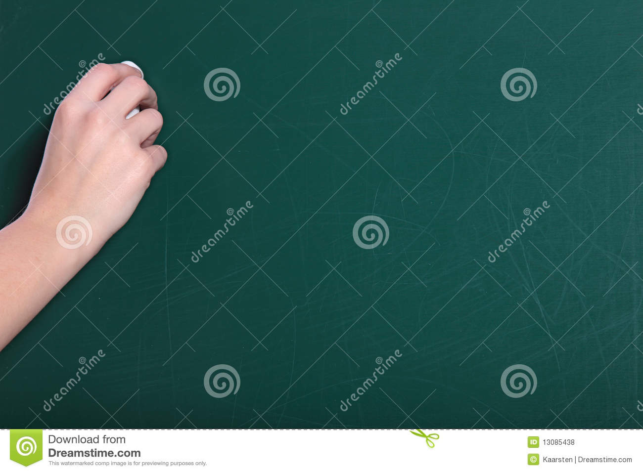 bockbord ritning ~ writing on the blackboard royalty free stock photos