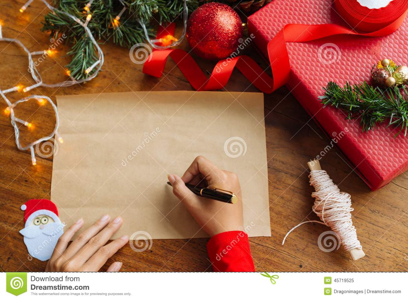 Writing christmas greetings stock image image of empty closeup writing christmas greetings m4hsunfo