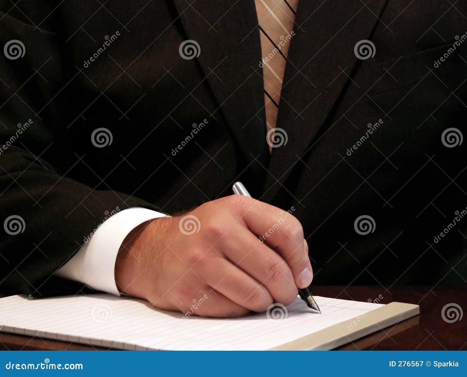 Writing för affärsman