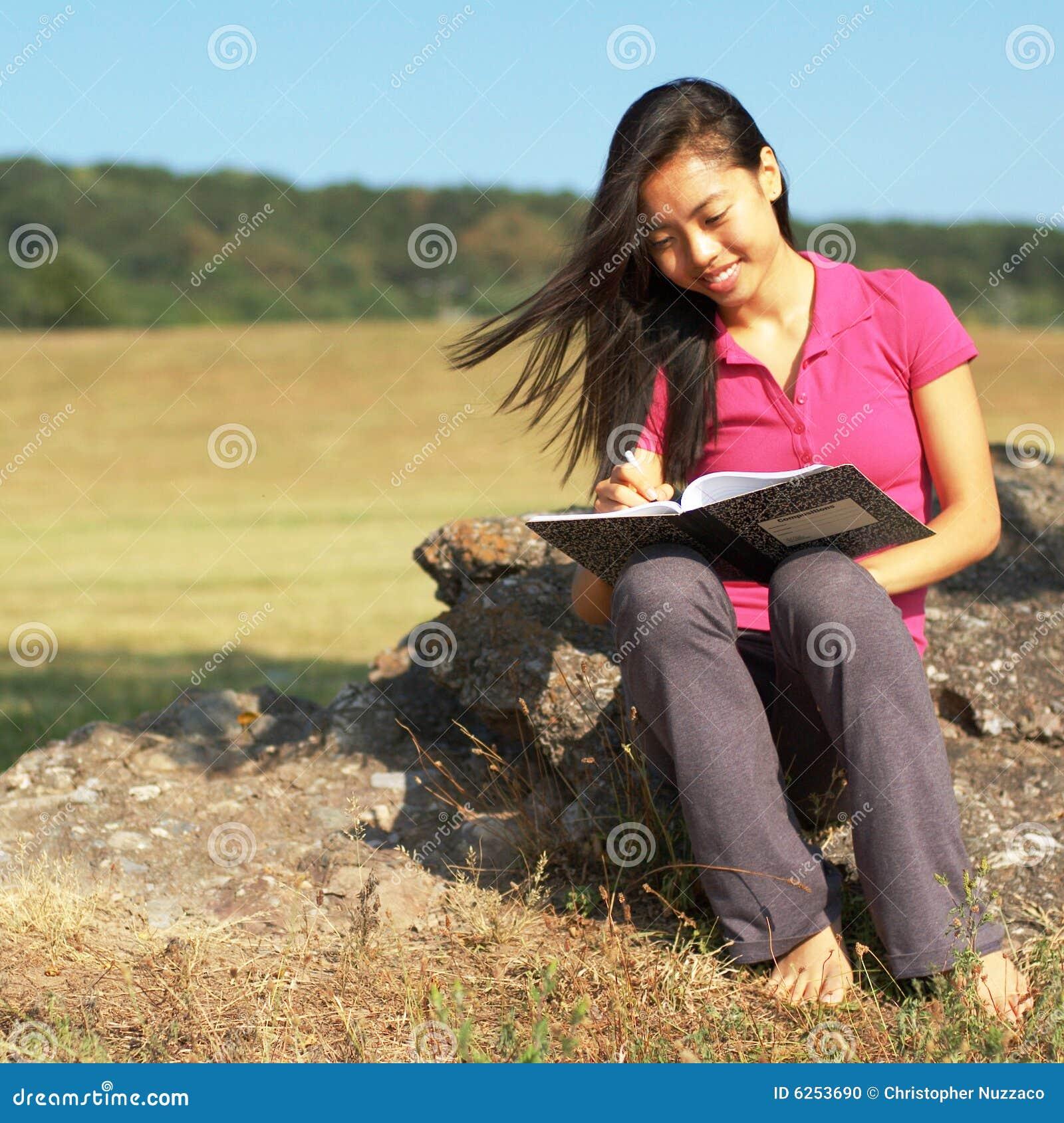 Writing för bokflickaanmärkning